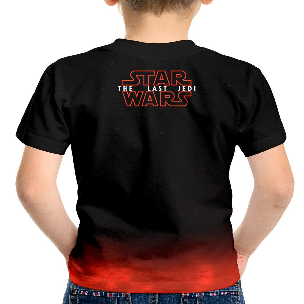 626d6d14a Camiseta Infantil Star Wars VIII 8 MD03 no Elo7