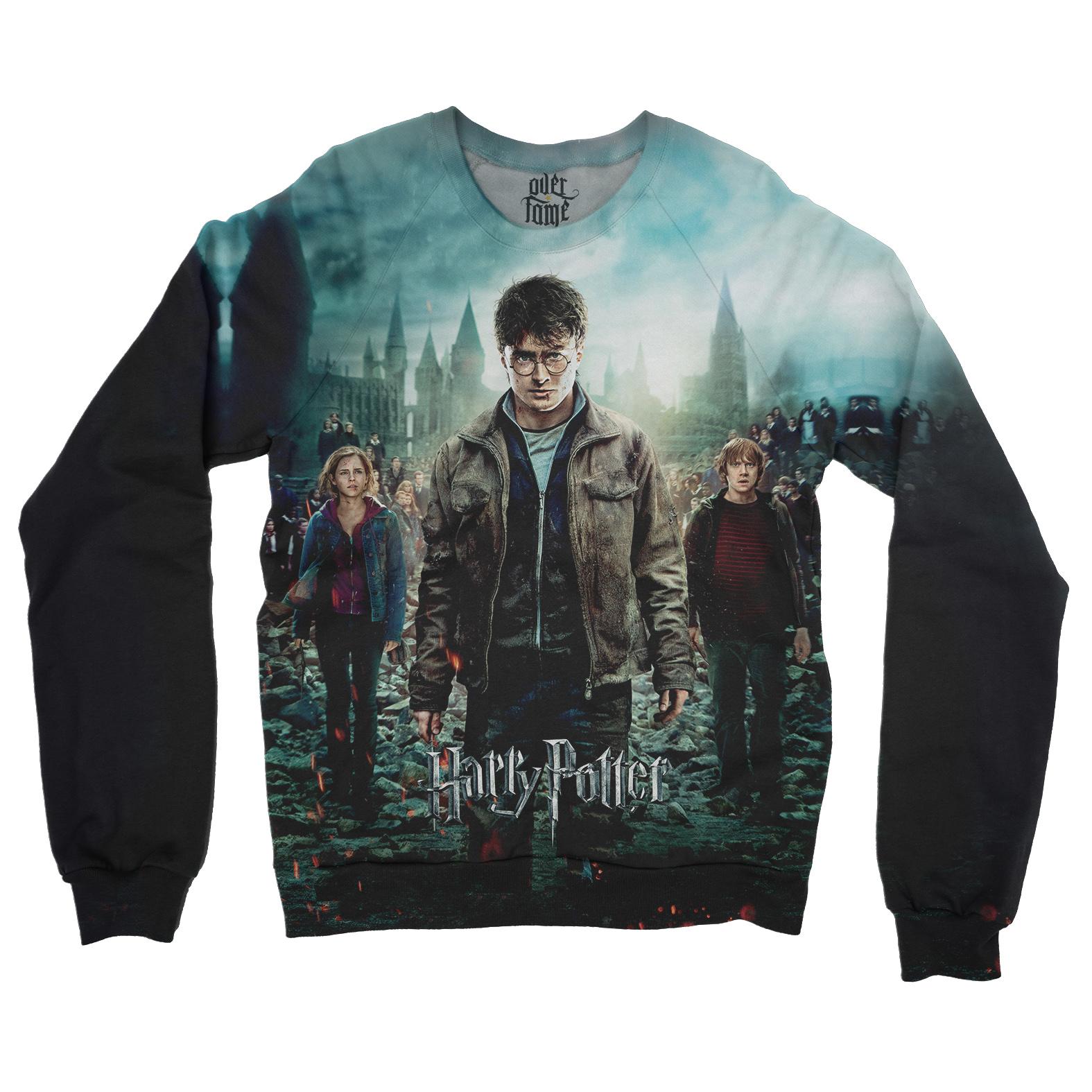 9e3fd6a103e3 Blusa Harry Potter Moletom Canguru Raglan | Elo7