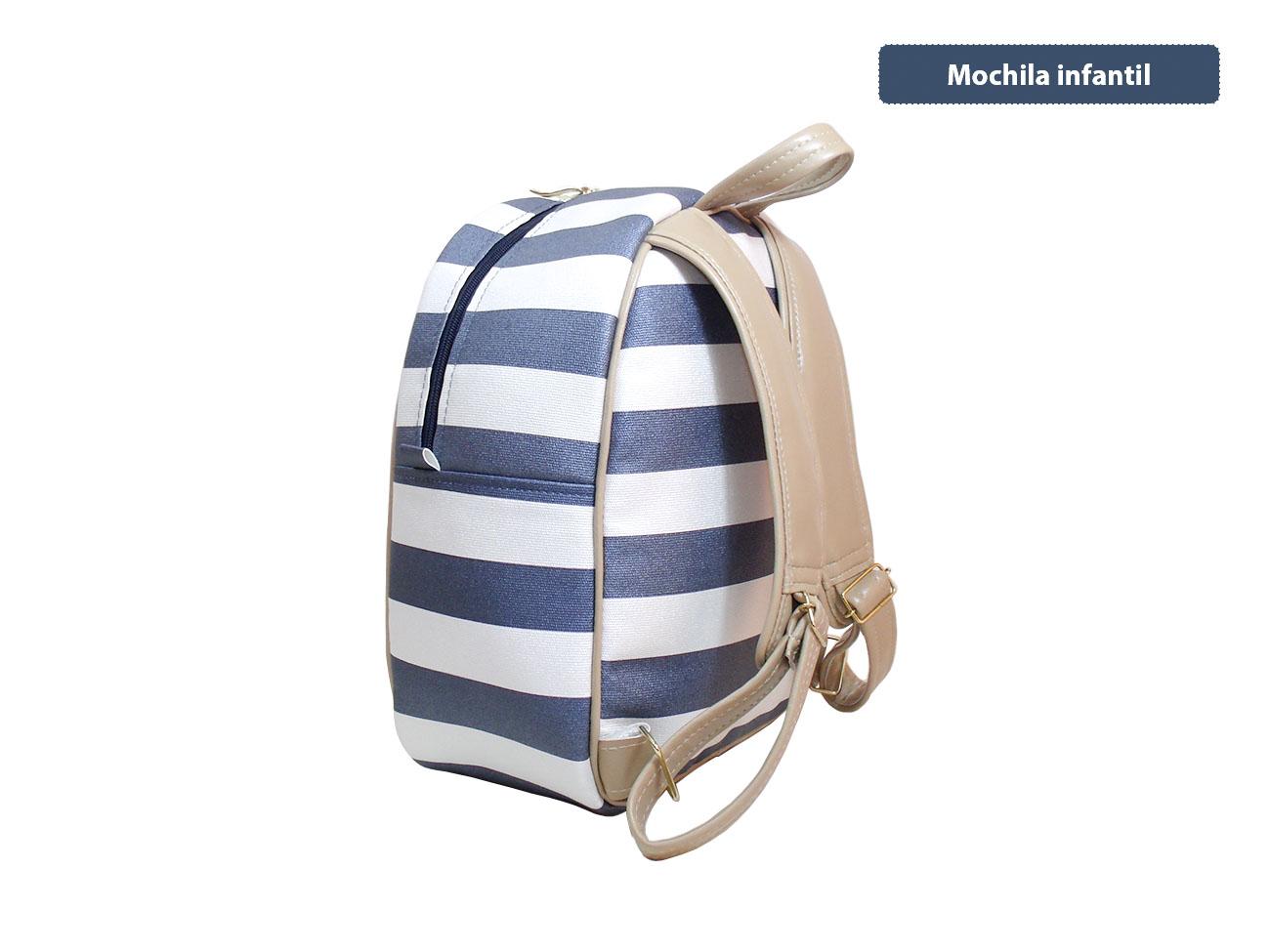 cb8c188ad6 Mochila Infantil (MC-BRLA01P) Personalizada no Elo7