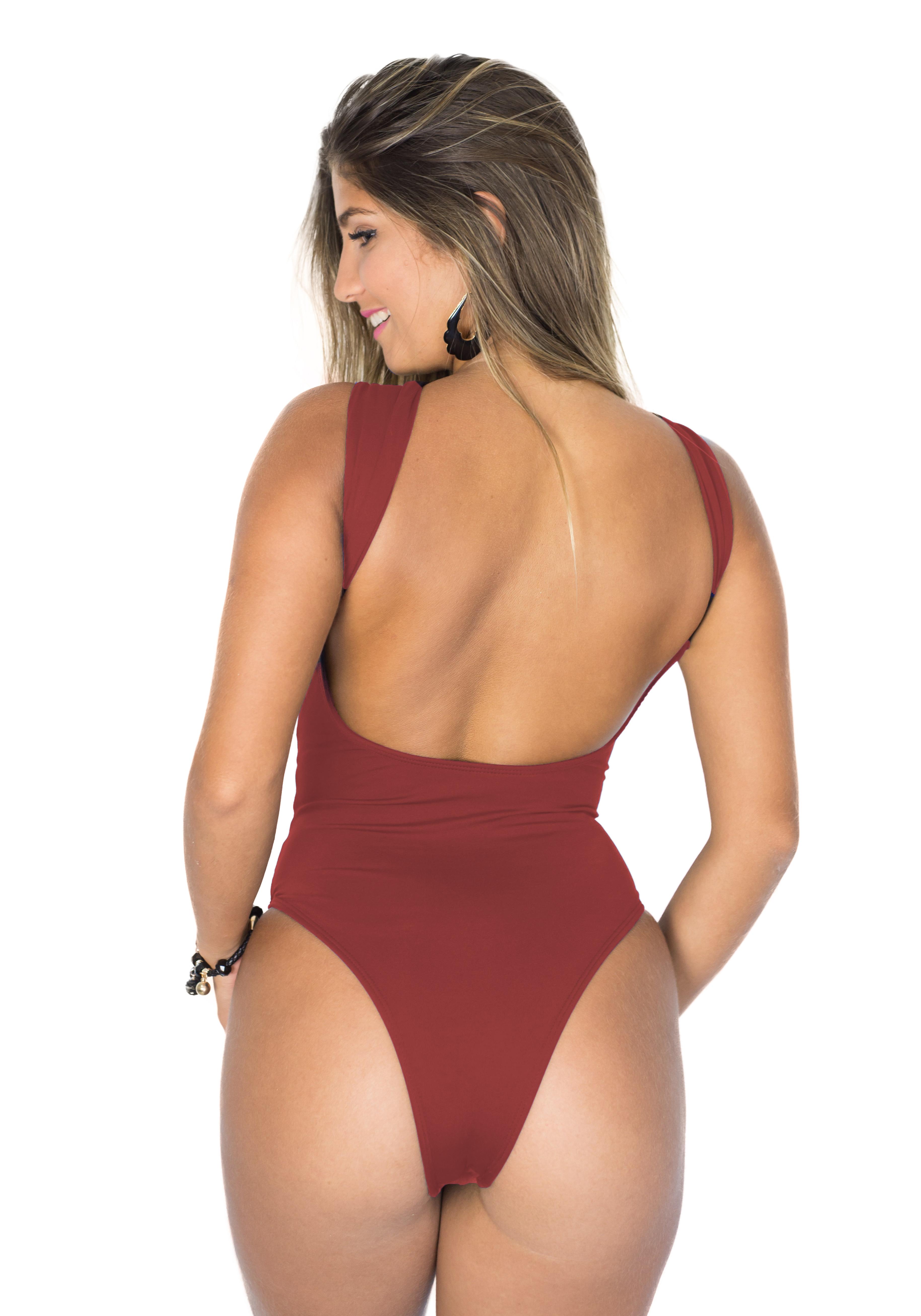 dcc5b3365ceb Blusa/ Maiô/ Body Frente Única Cava X Vinho no Elo7 | Amo Verão Beachwear  (A5CDB4)
