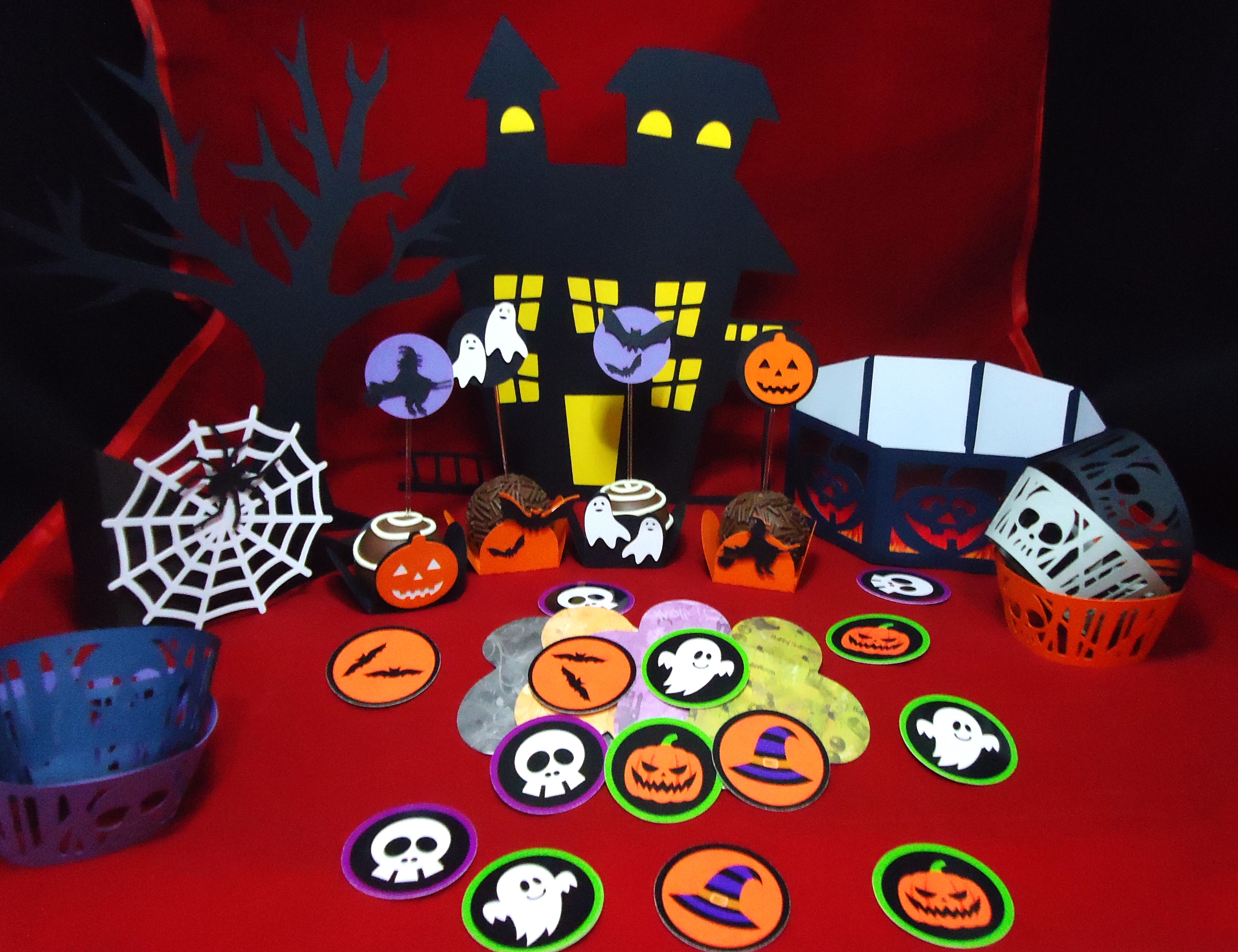 Decoracao De Festa Infantil Tema Halloween.Festa Infantil Halloween Elo7