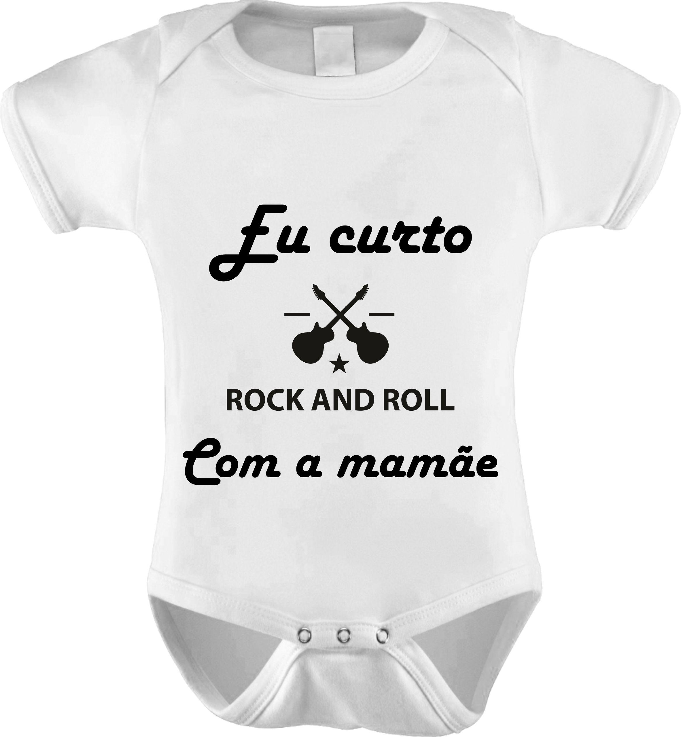 Body Bebê Rock And Roll  4b30fed75b4