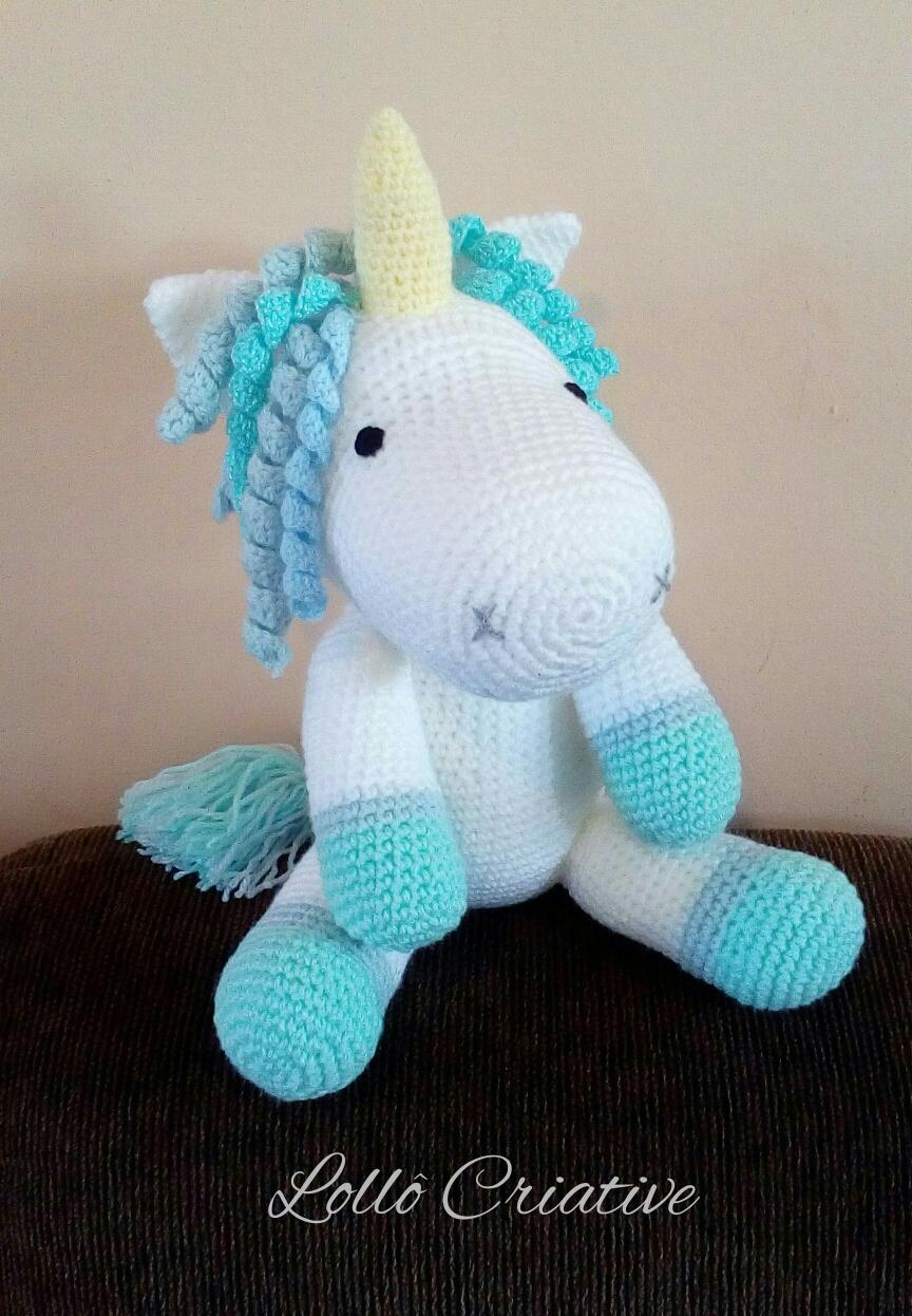 vivir vintage: Como tejer un hermoso unicornio en crochet ...   1246x864