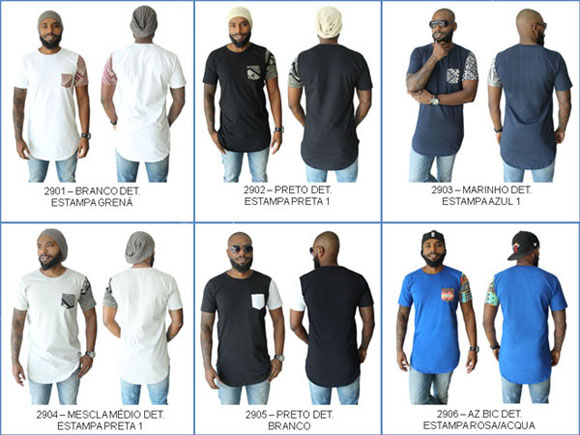 74e38d91d02c1 Camiseta Oversized longline Swag PP   P   M   G   GG no Elo7 ...