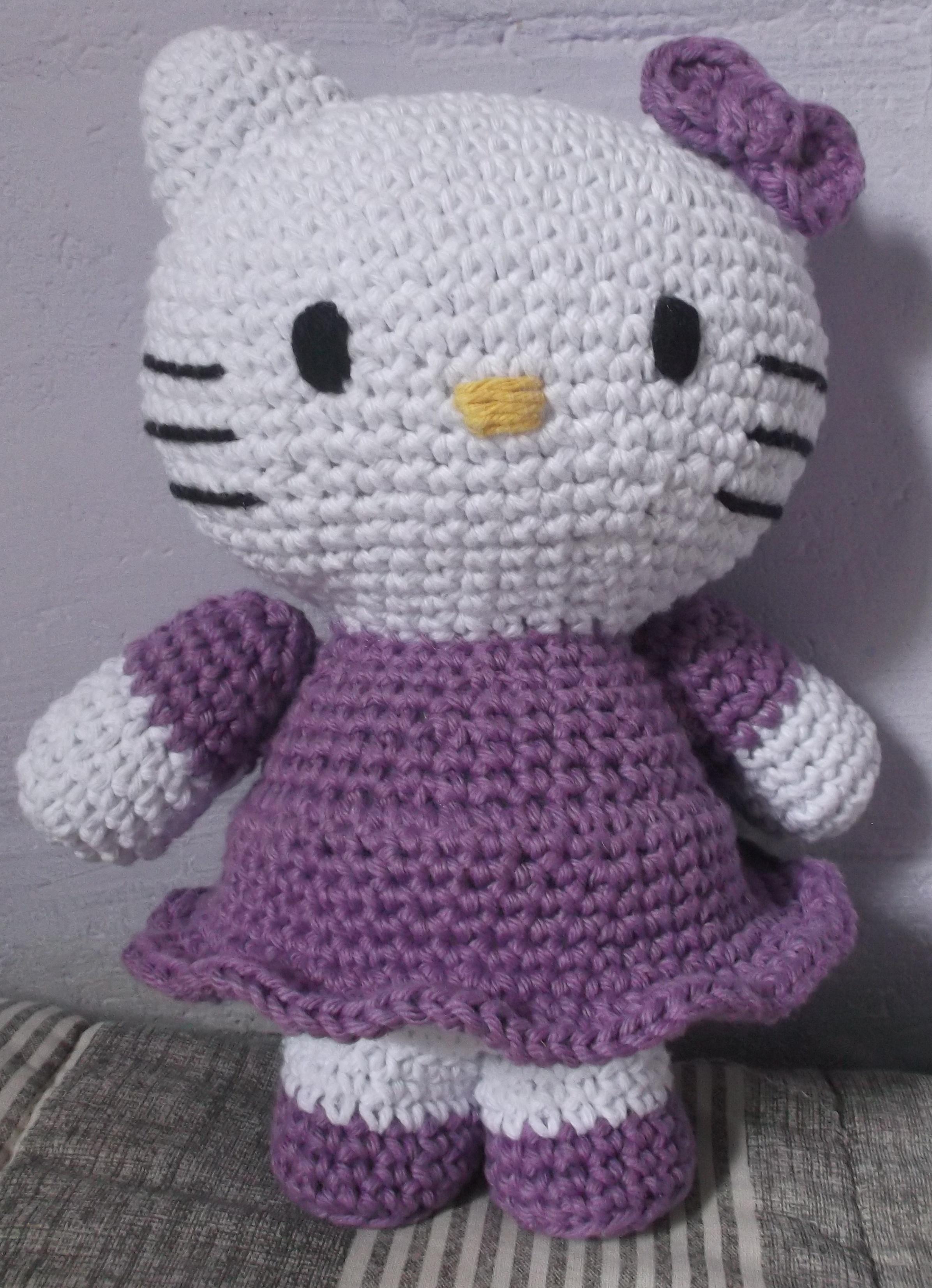 Hello Kitty Amigurumi - Bonecas Famosas em Crochê (Inspiração ... | 3305x2392