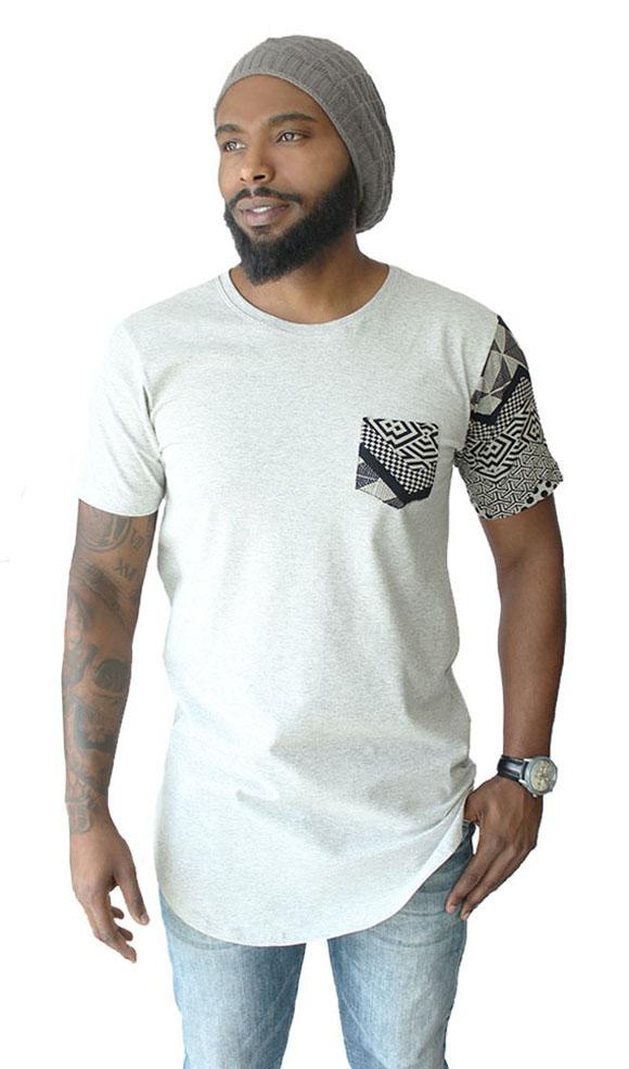213120bd4 Camiseta Oversized Longline Swag Plus Size Camisa Masculina no Elo7 ...