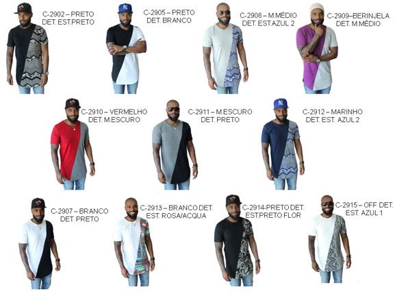 cfdda2a01 Camiseta Oversized Plus Size Longline Camisa Masculina no Elo7 ...