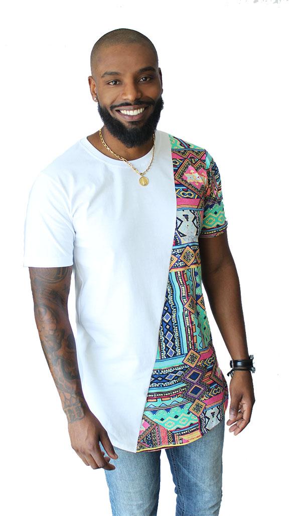819fbffac Camiseta Oversized Plus Size Longline Swag Camisa Masculina no Elo7 ...