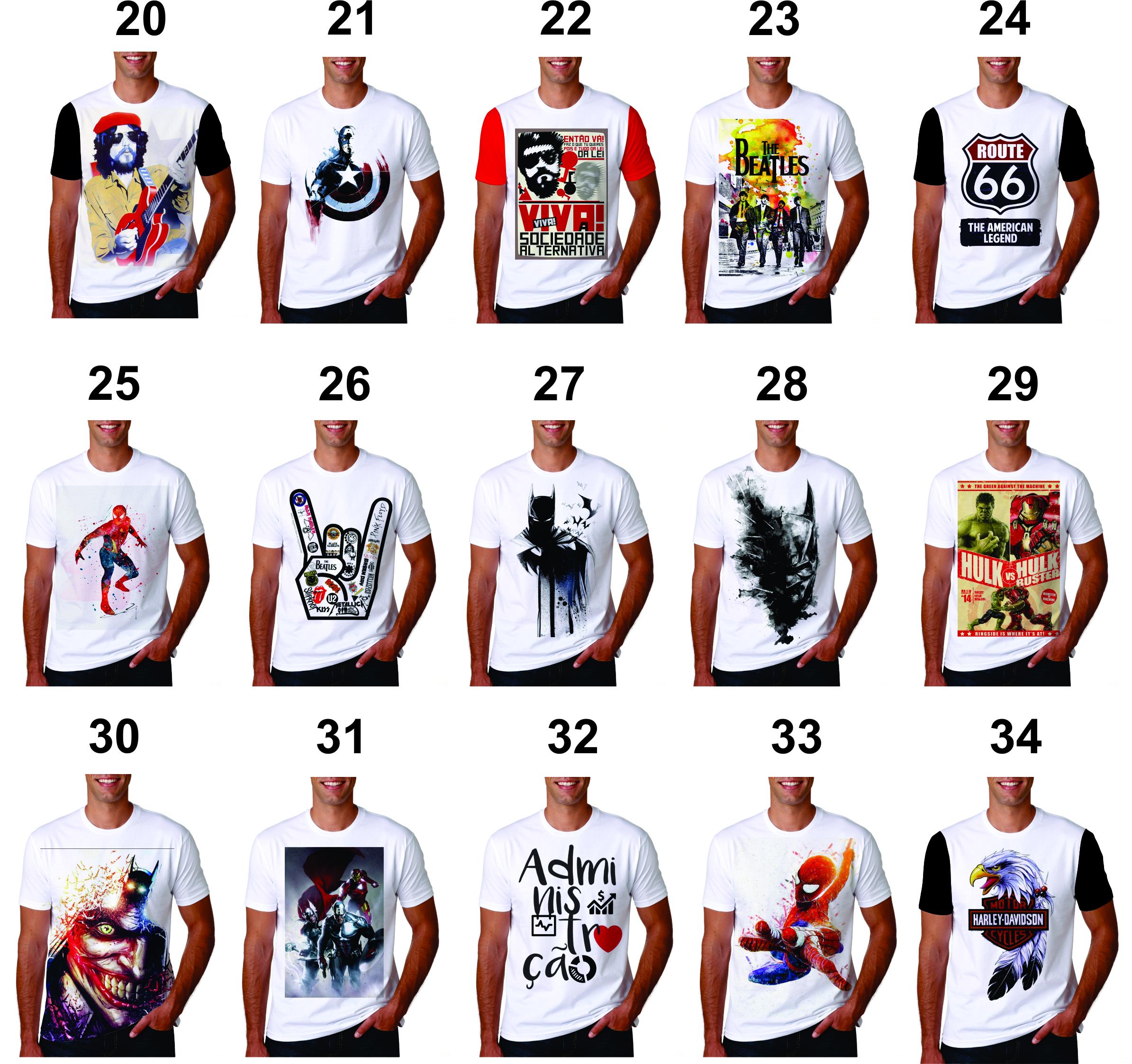 Camiseta Personalizada Sublimação no Elo7  3ca29a816b199