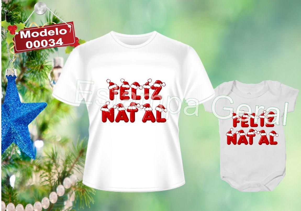 9e3a892a93335 Camiseta Personalizada Natal