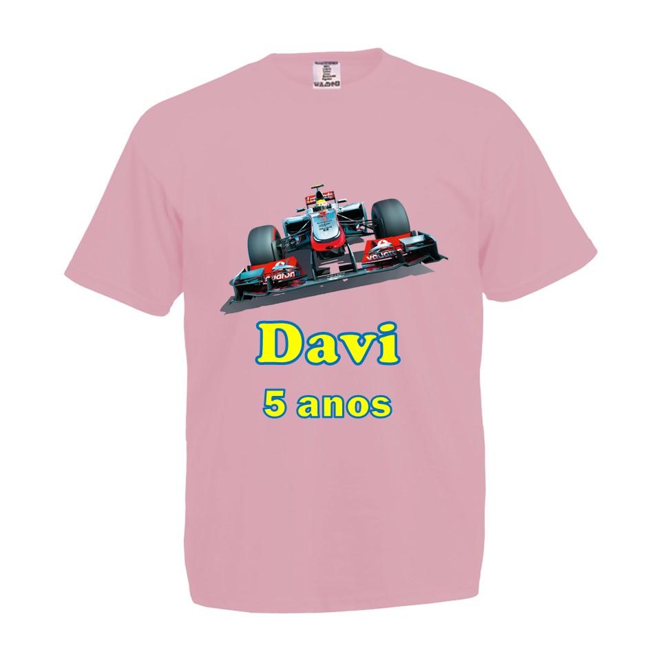 b2e03b833e Camiseta Rosa Bebe Formula 1