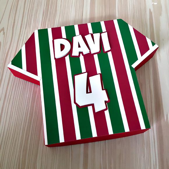 Caixa Camisa Time de Futebol - Fluminense no Elo7  2650c8886d4a8