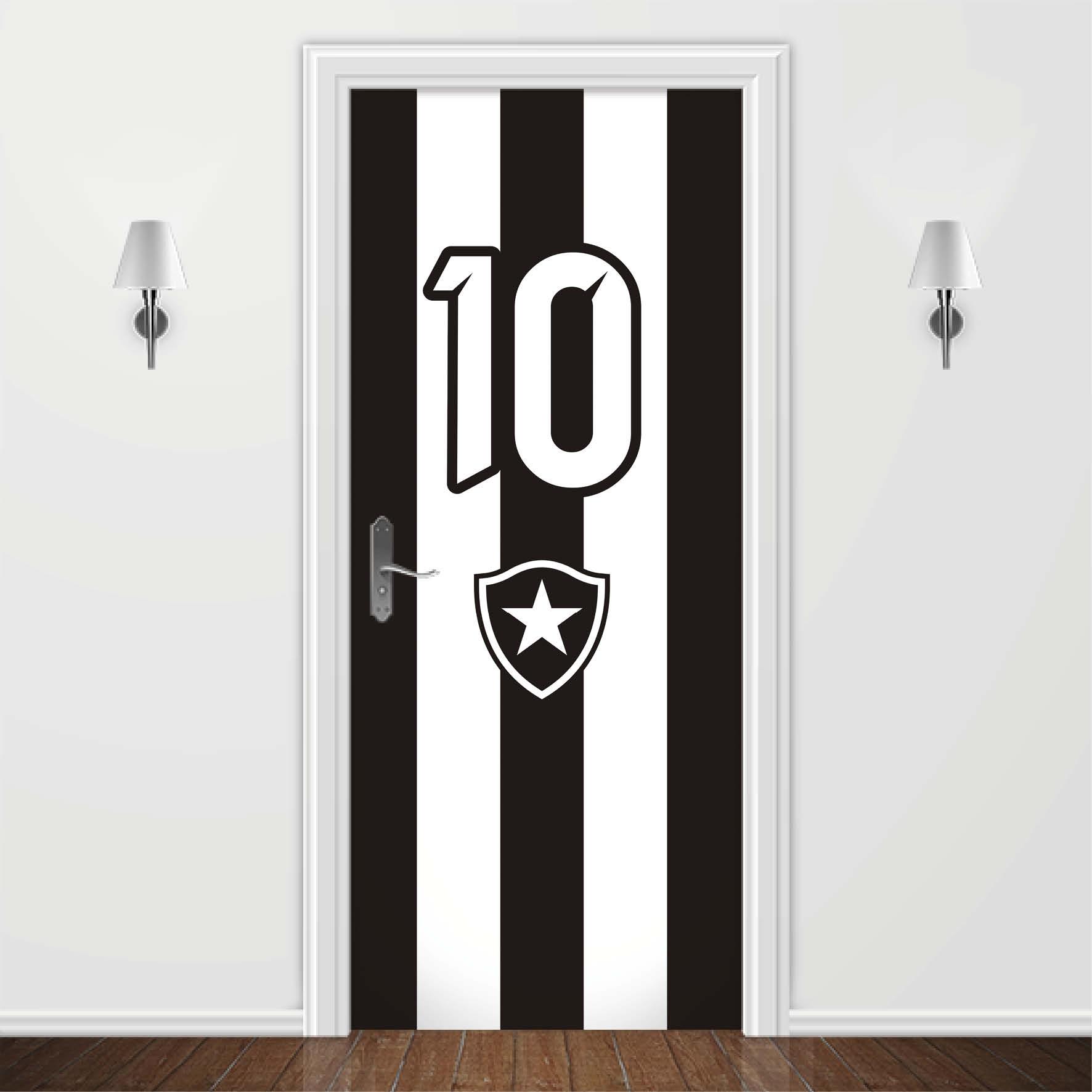 25b84d5e89 Adesivo para Porta Times de Futebol Botafogo