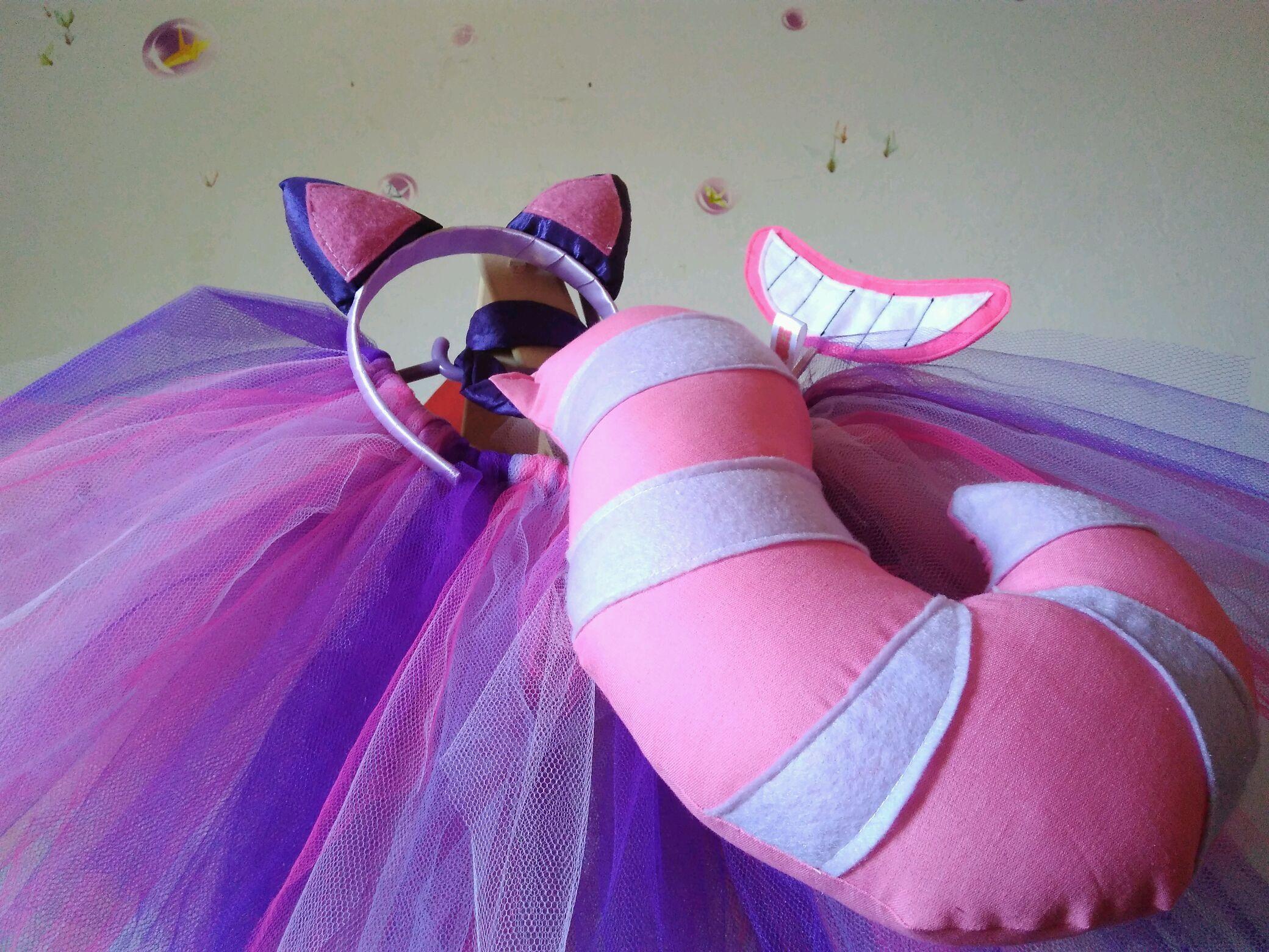 41dccb125f5a89 Fantasia Gato da Alice com Tiara
