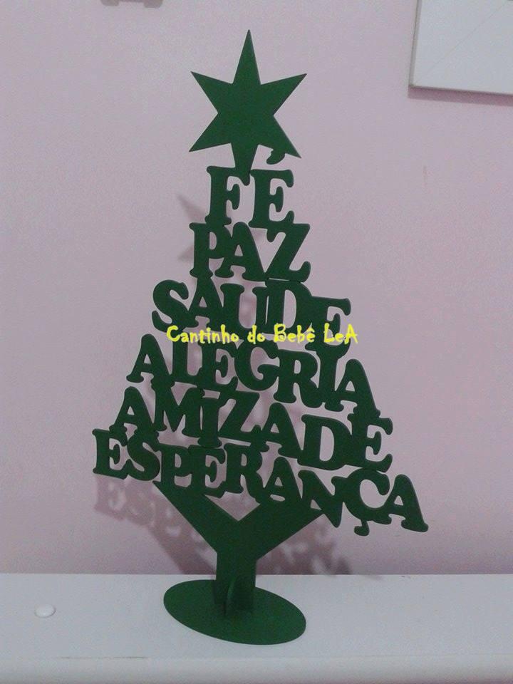 Arvore De Natal Em Mdf Elo7