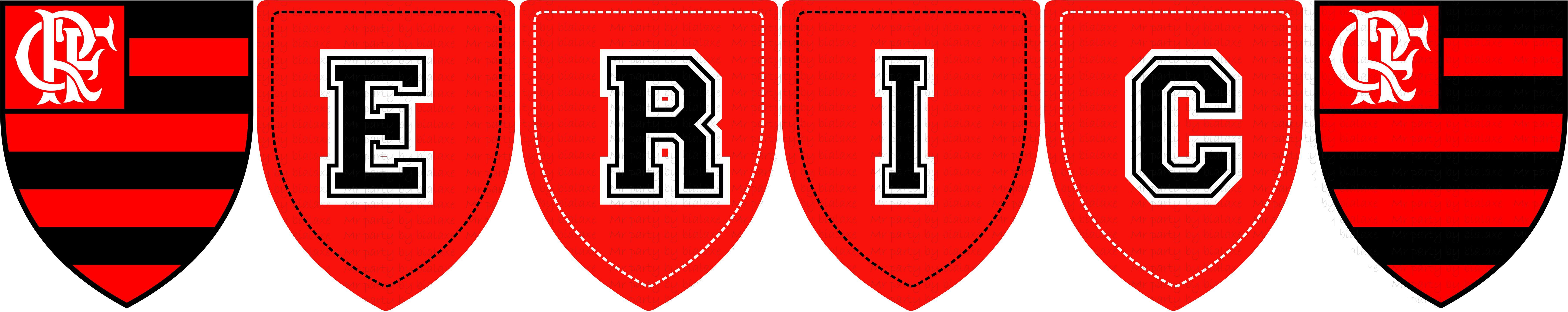 f6a93b58ac Bandeirolas do Flamengo