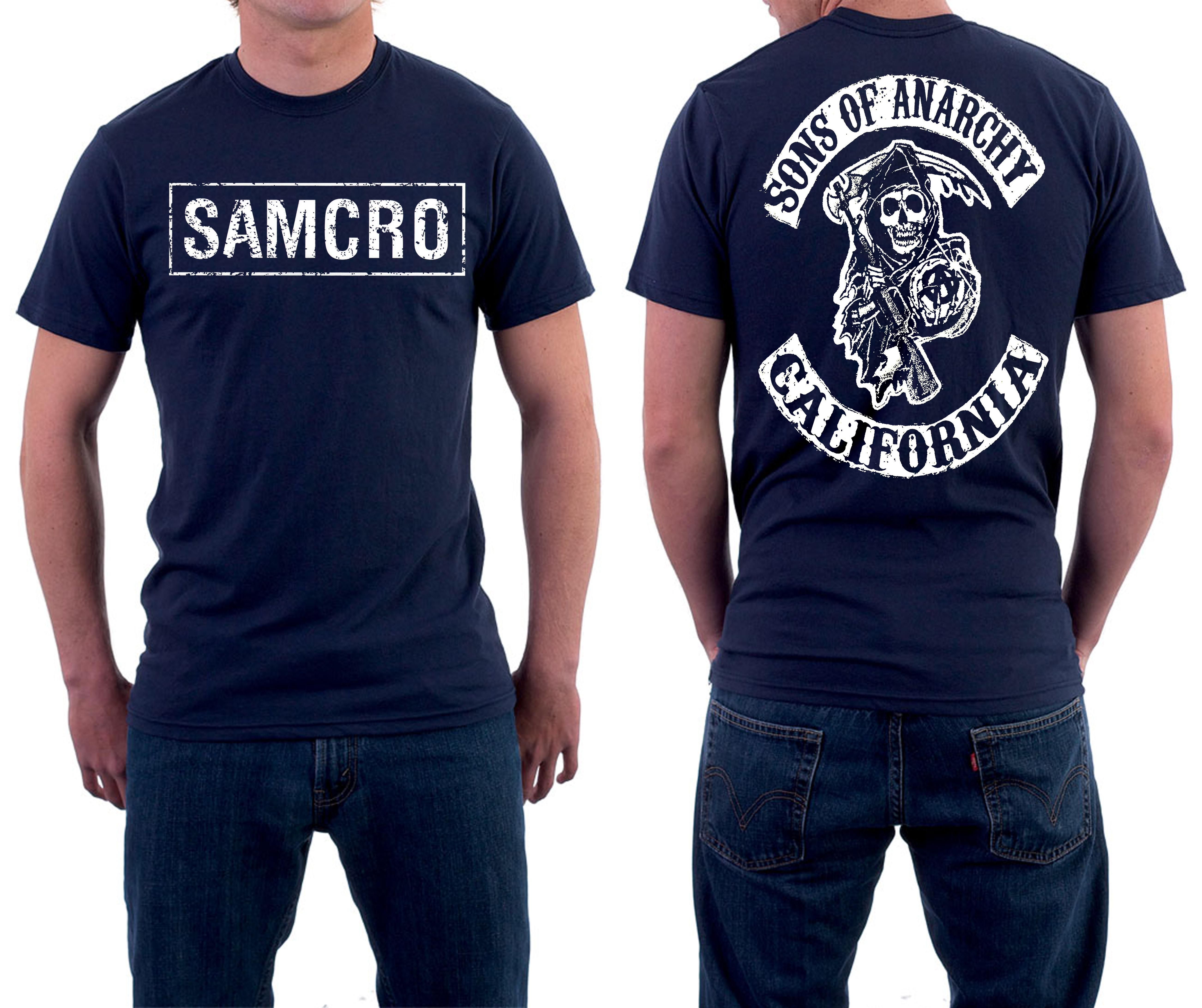 185013ac11a1e Camiseta Filhos da Anarquia Samcro Sons Série Motoclub no Elo7 | MMB  ModaStore (A985D6)