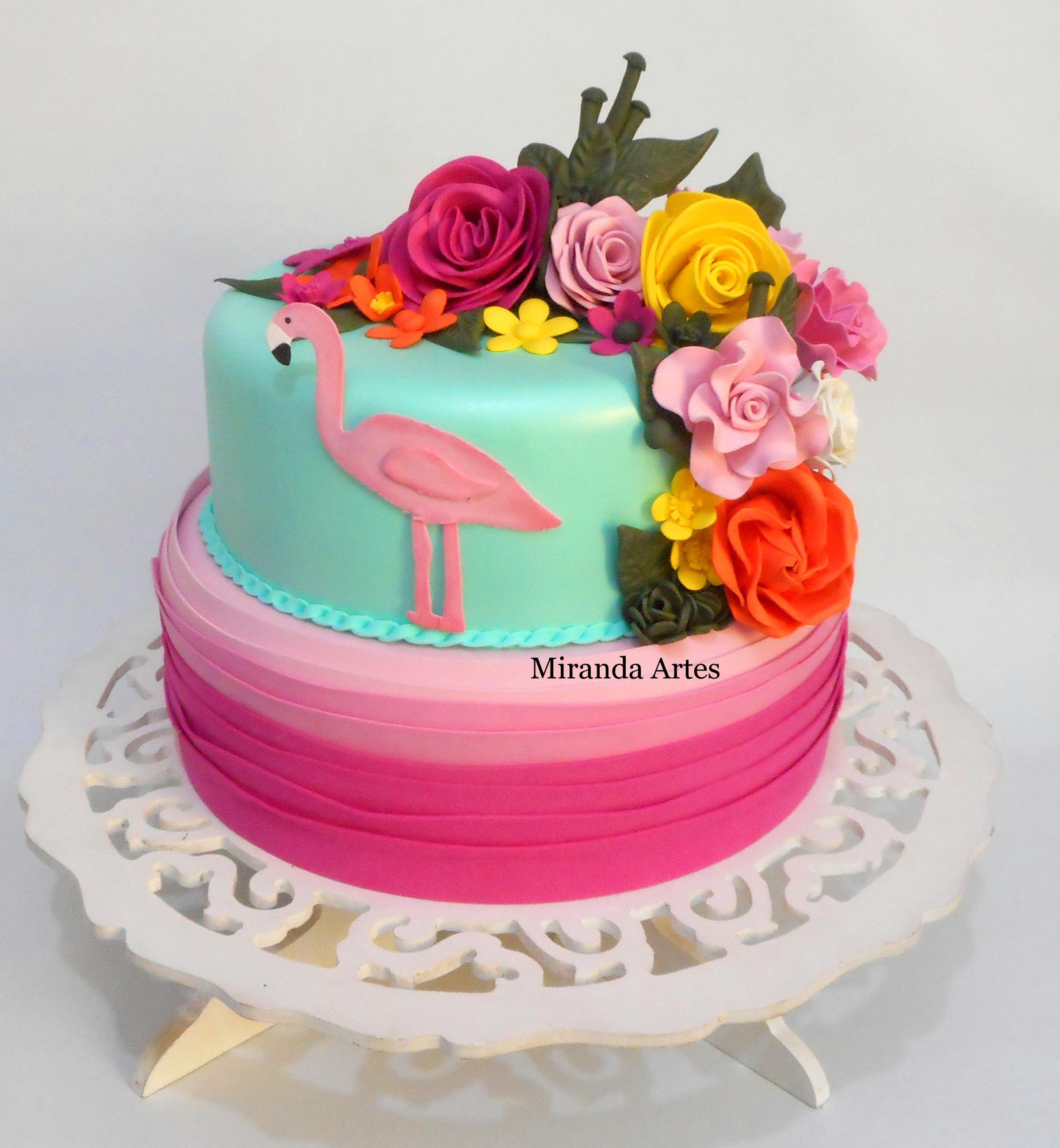 Bolo Fake De Eva Flamingo No Elo7 Miranda Artes Em Eva A9d2d2