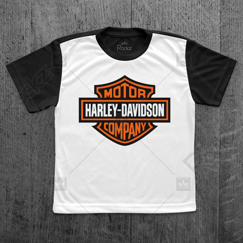 a508ece837932 Camiseta Personalizada Infantil Harley Davidson | Elo7