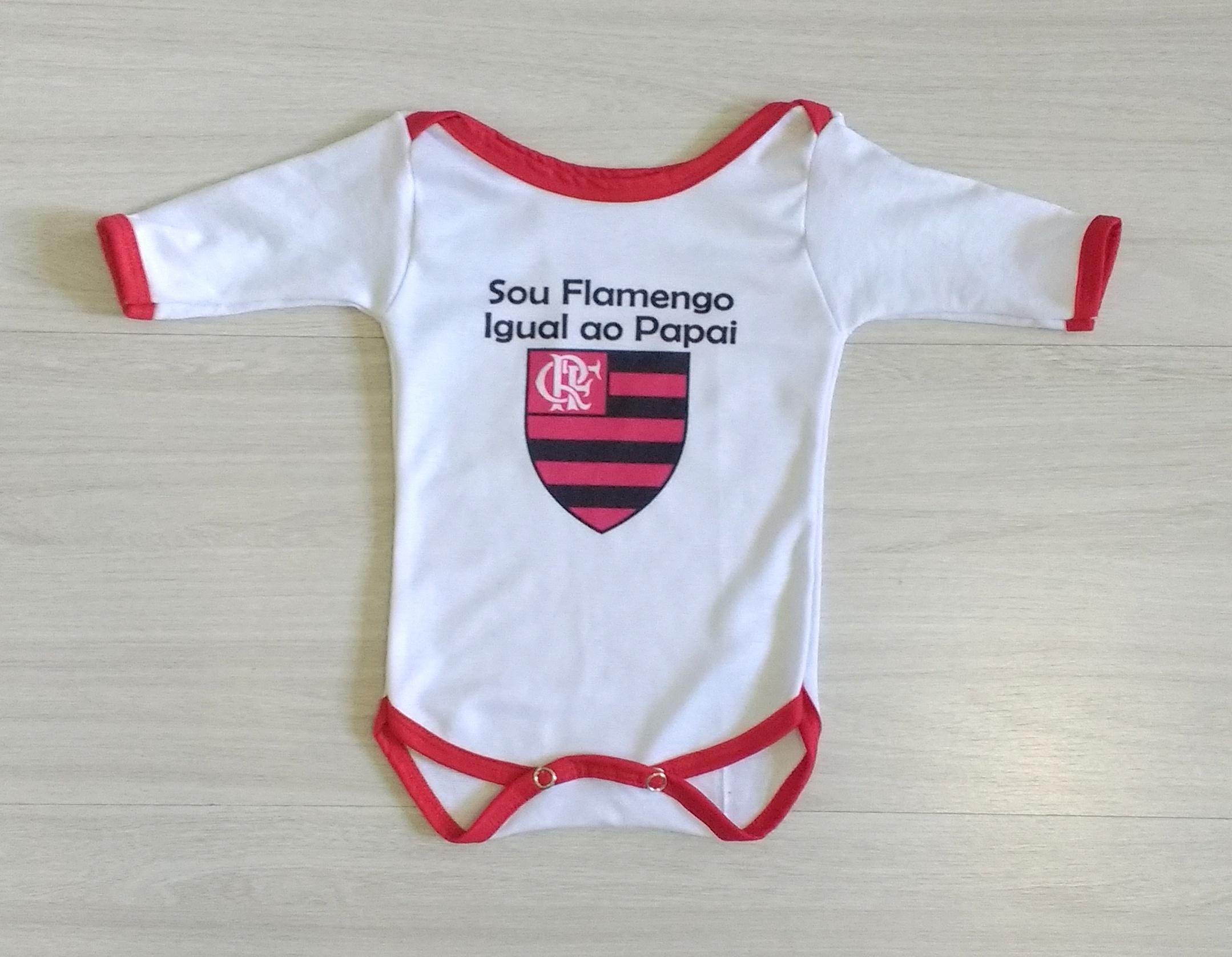 902c1d17f7f Body Flamengo Conjunto conjuntinho Personalizado fantasia no Elo7 | Estampa  do Seu Jeito (AA0C26)