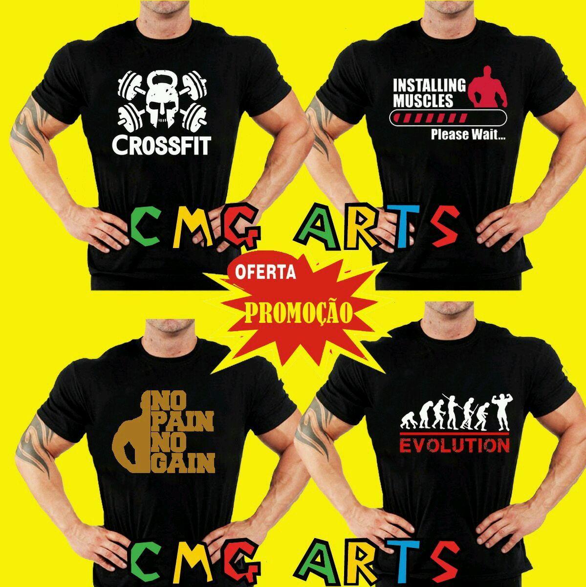 Camiseta Regata Academia No Pain No Gain  bc2d9a9a7c660
