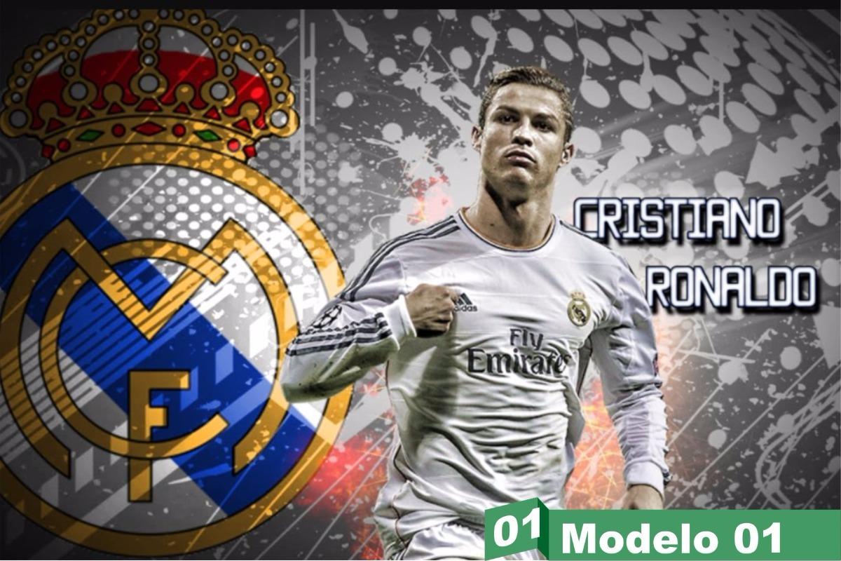 c2bd9a4c8c Camiseta Cristiano Ronaldo Real Madrid   Elo7