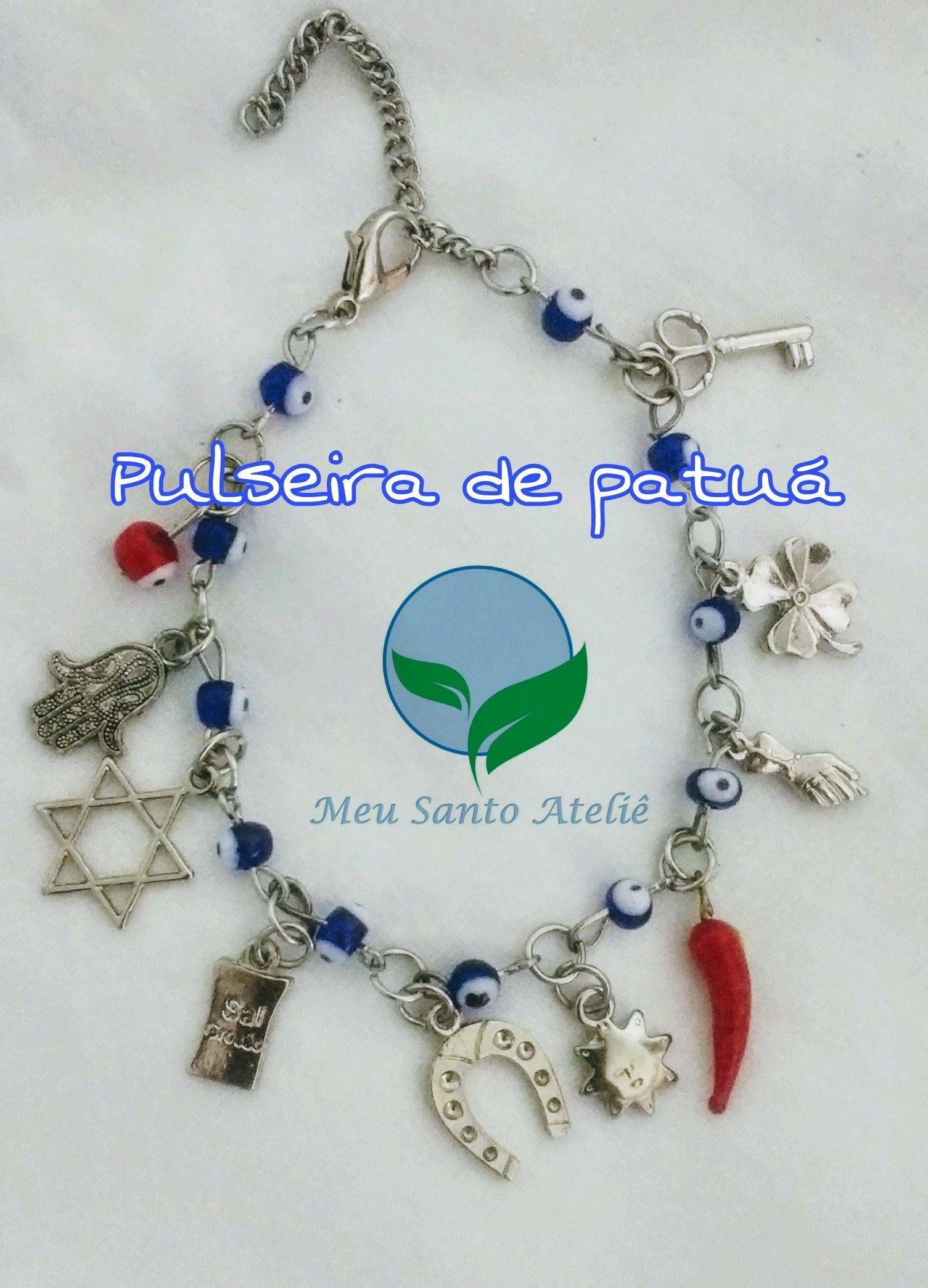 d02f09a5b5751 Pulseira Super Protecao   Elo7