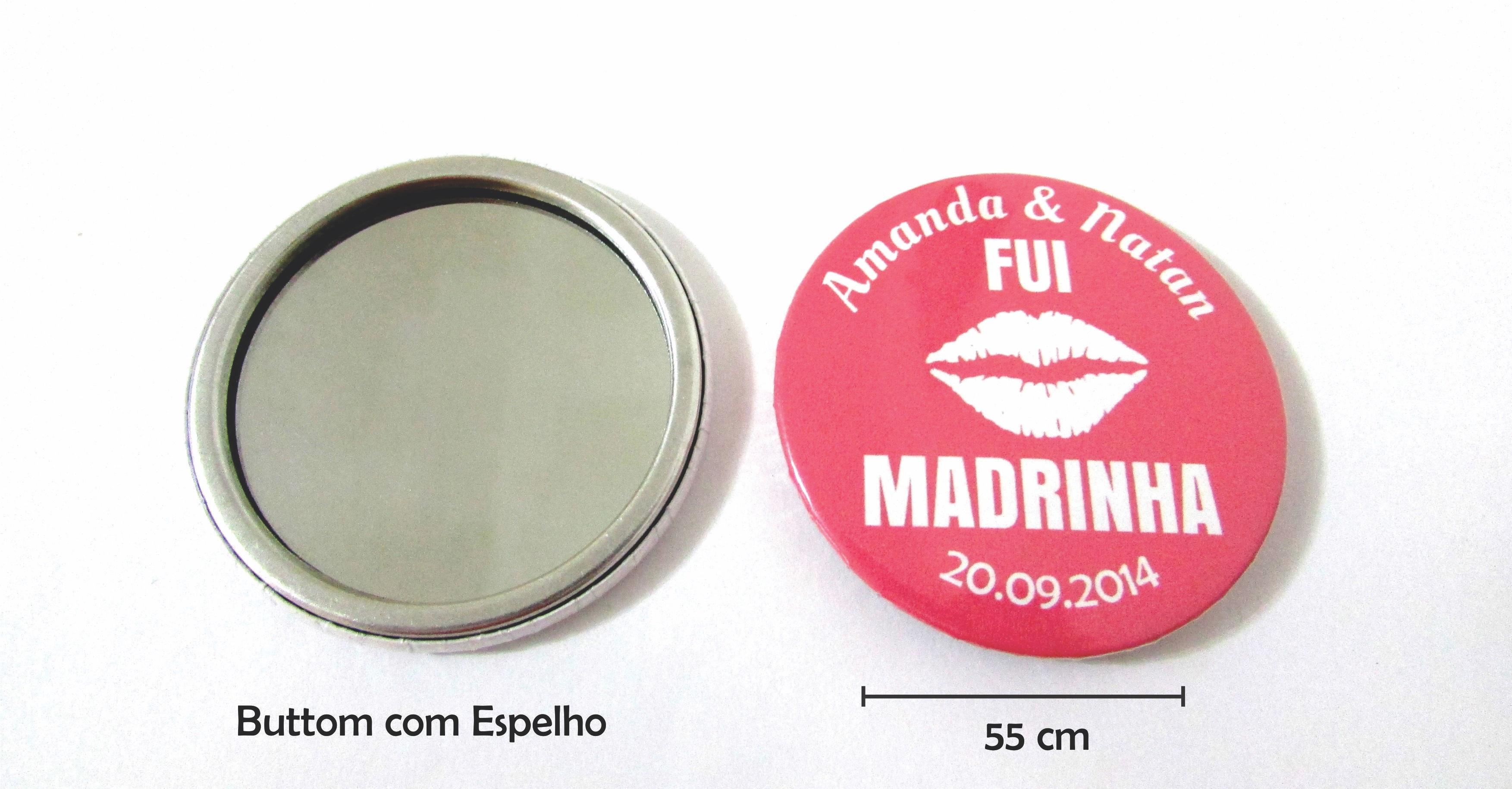 fcb76e6df Lembrancinhas para Casamento Mini Escova e Espelho de Bolsa