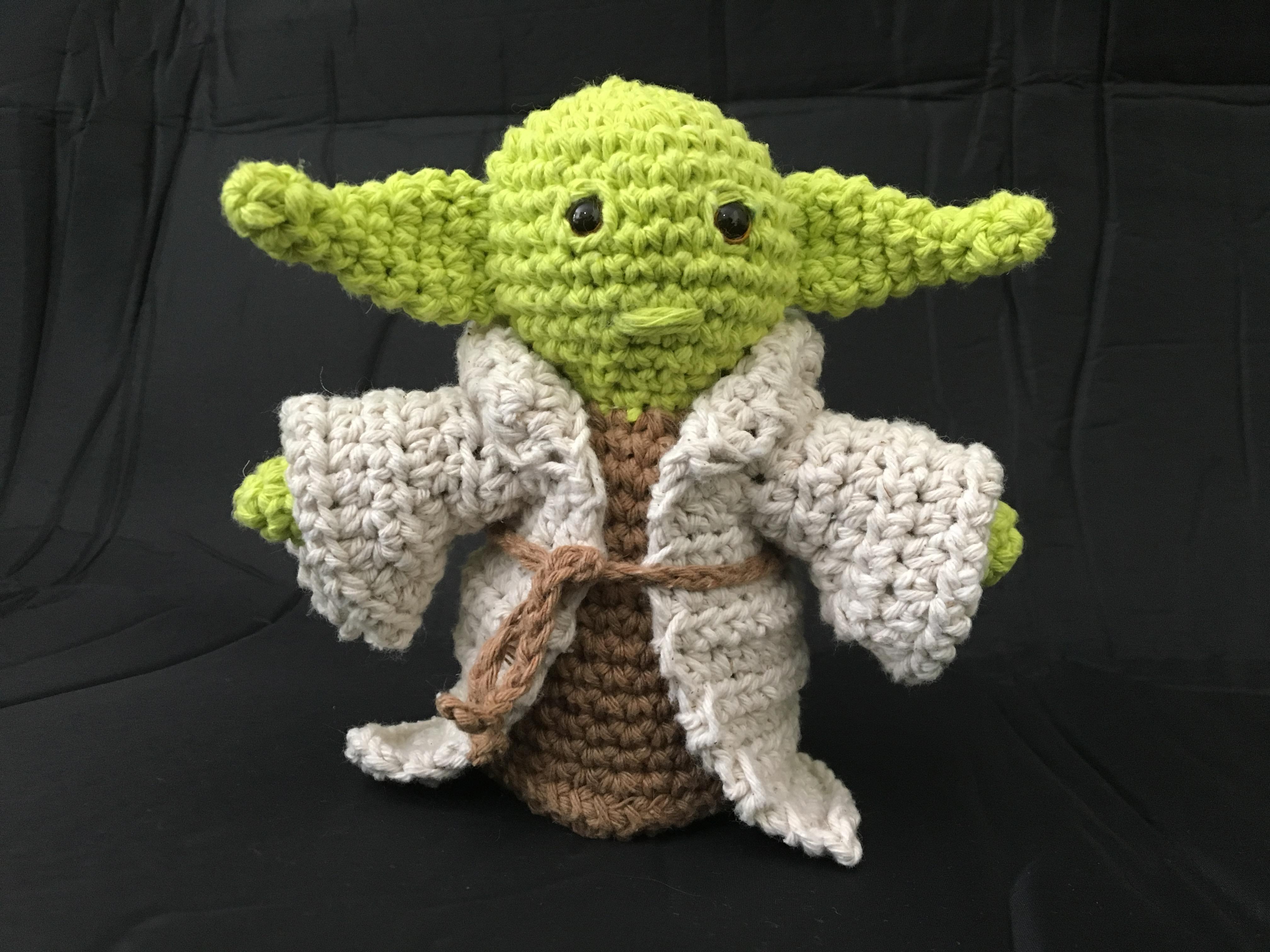 Baby Yoda - Desafio Crochet Land de Janeiro - Crochet Land | 3024x4032
