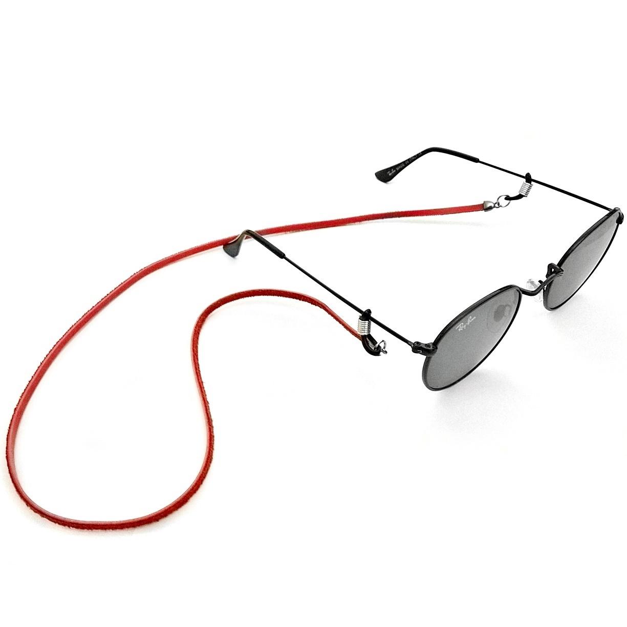 5a7185bb6f84e Cordinha Para Oculos Vermelha Cordão Salva Óculos Leitura no Elo7 ...