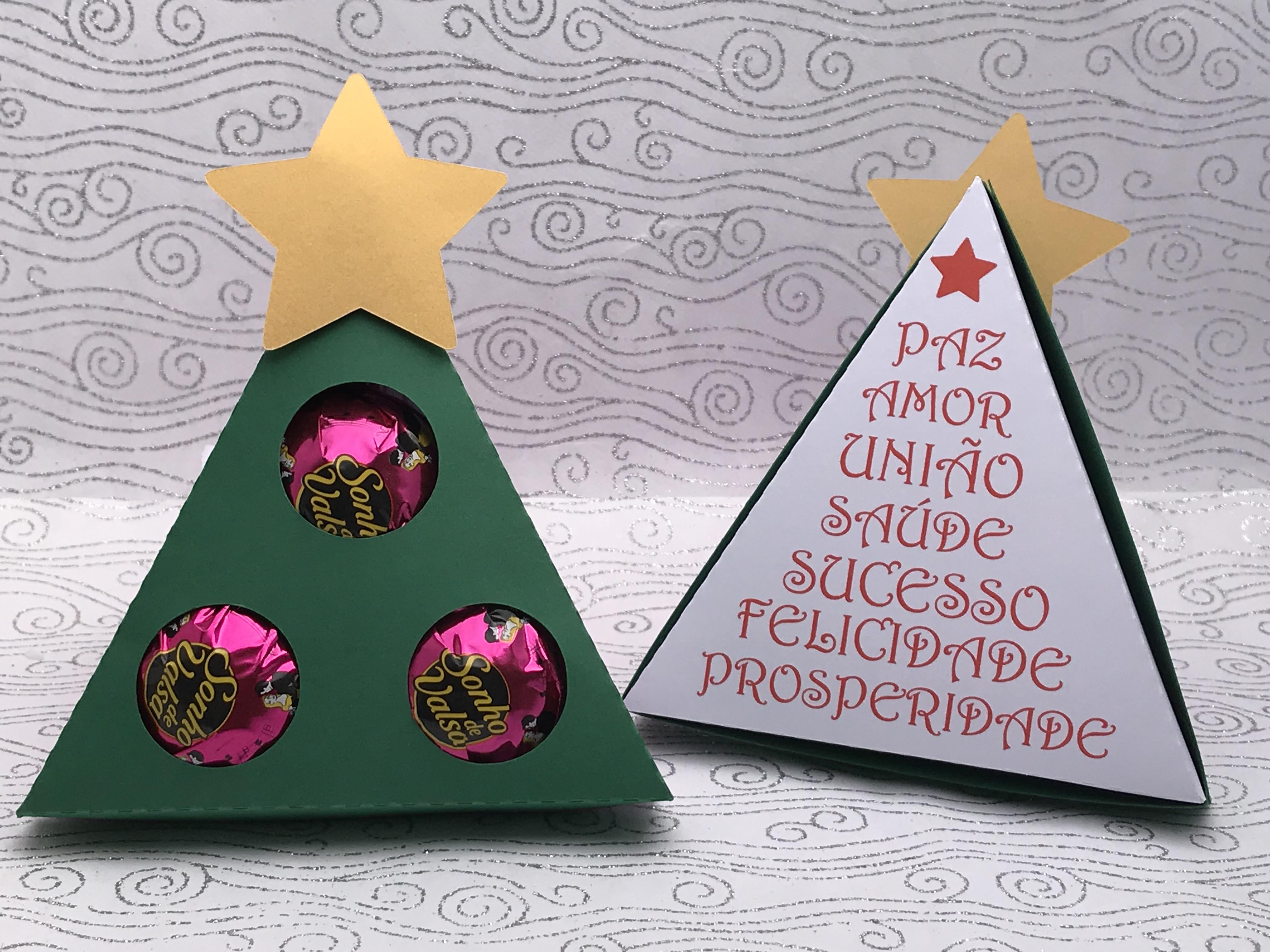 Caixa Bombom árvore De Natal No Elo7 Torrões De Açúcar Papelaria