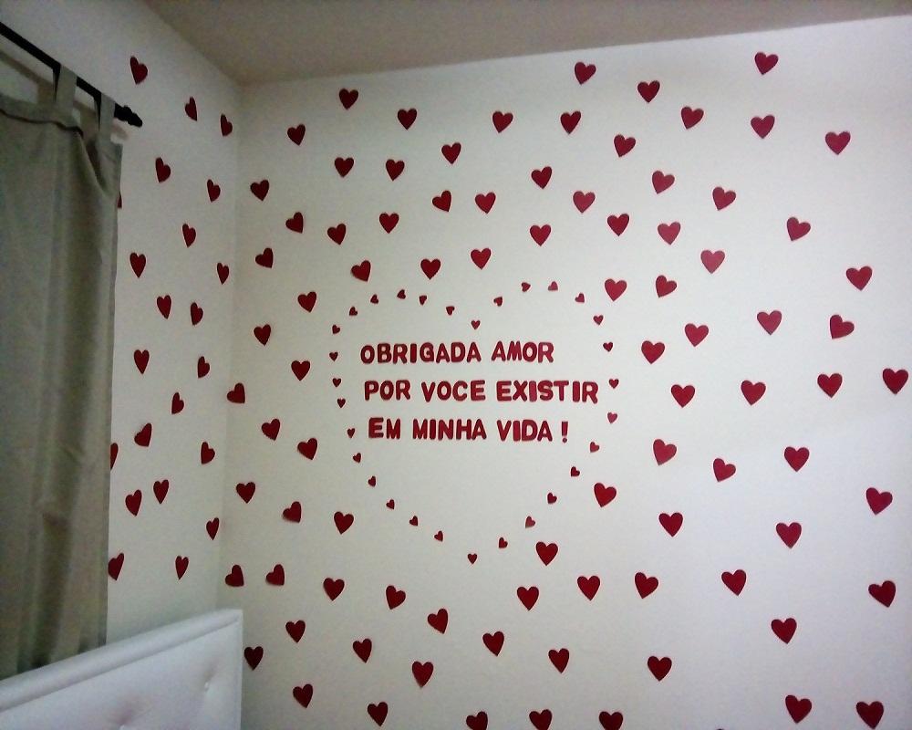 b8174e2a5ee278 Surpresa Romantica pra Namorados Frase de Amor | Elo7