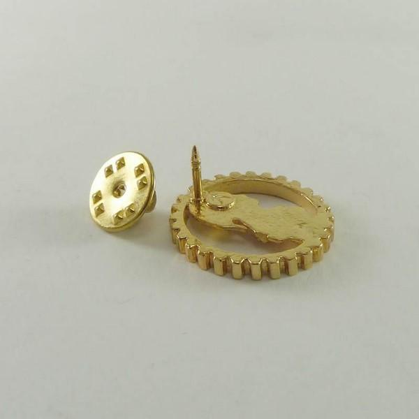 Pin Boton Engenharia Civil - CONFEA -Folheado Ouro 18K no Elo7   ARTFACTUM  Joalheria (721B0A) b371dae068