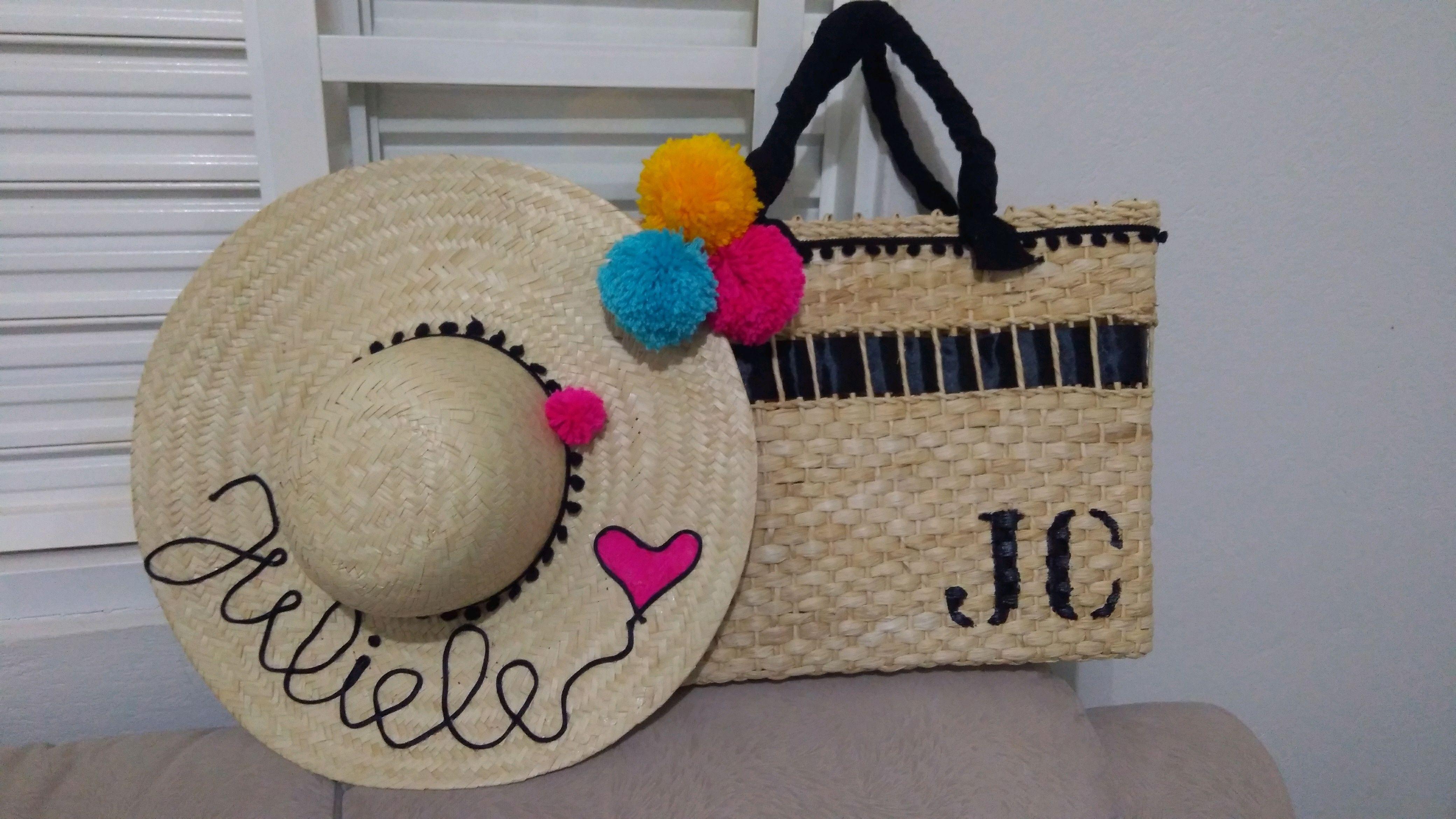 45efd87cfc781 Kit Chapéu de Palha Feminino e Masculino