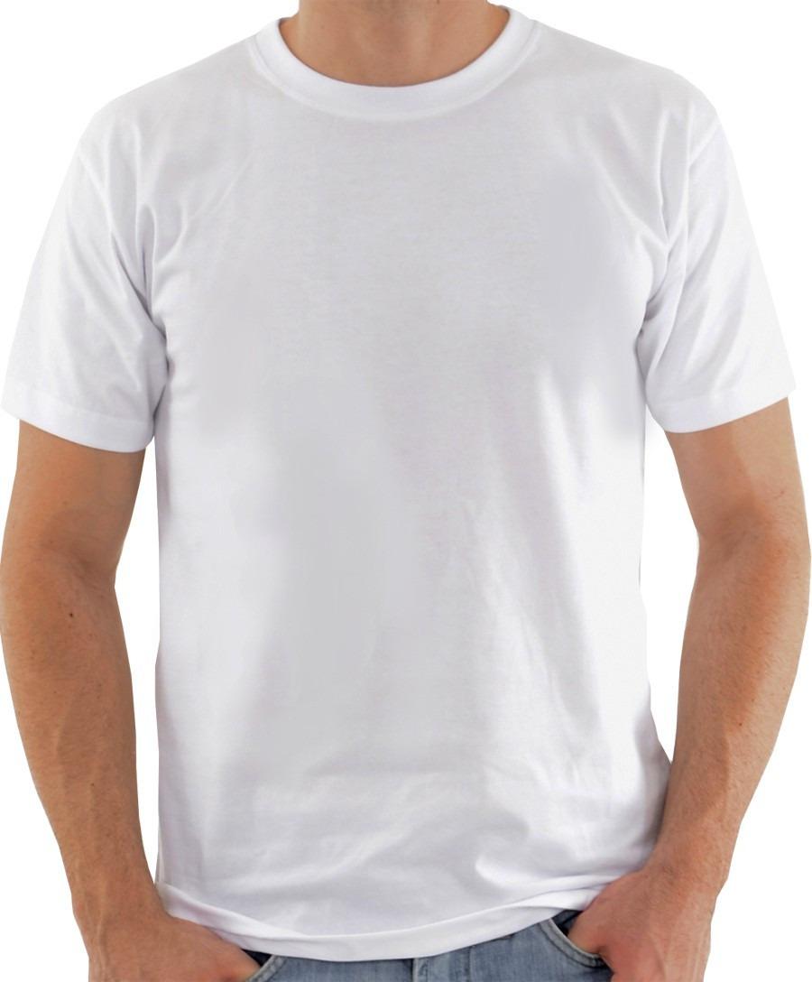 c883a101f Camiseta Branca 100 Poliester para Sublimacao