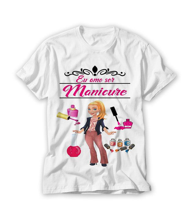 9d7df98a85 Camiseta Manicure