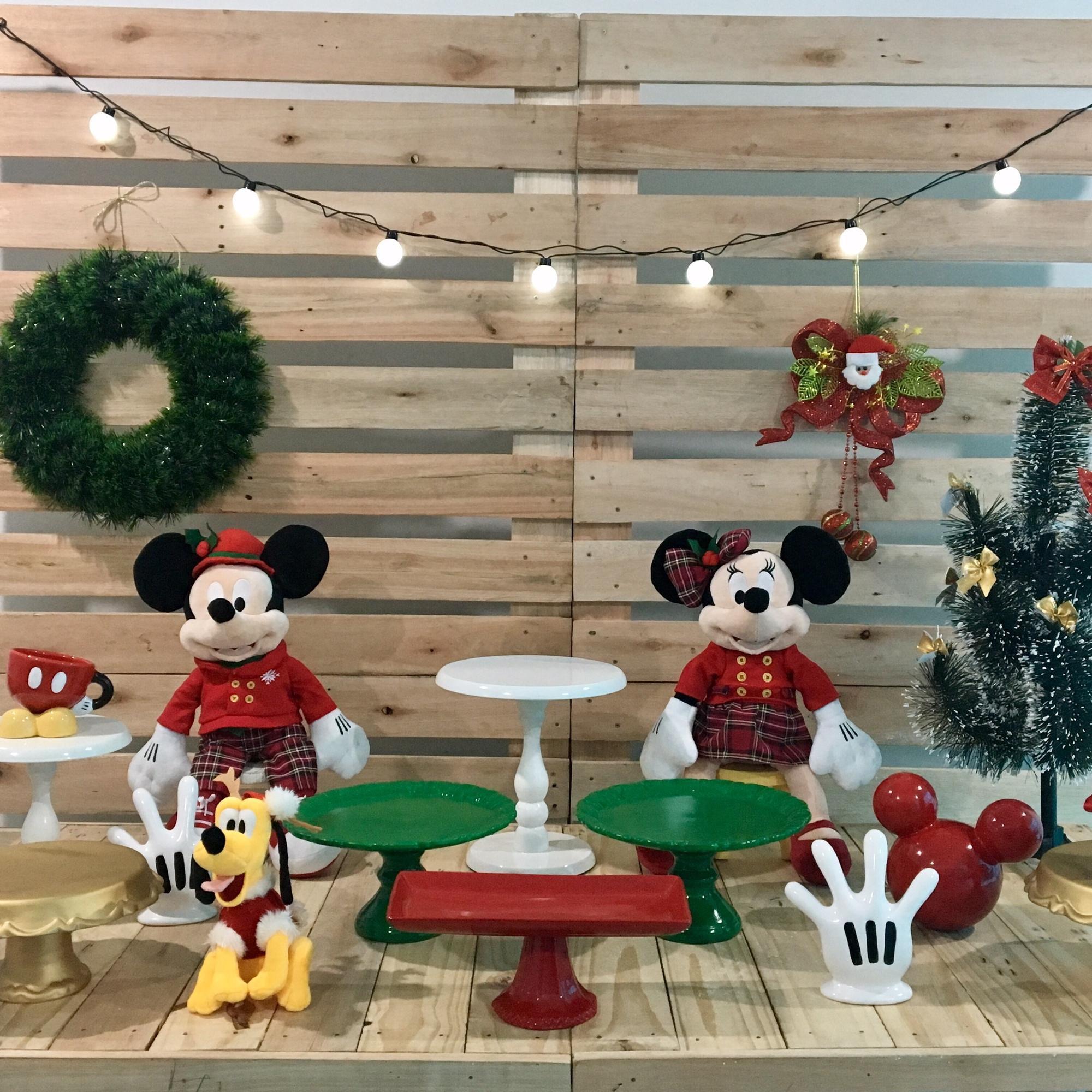 bfa769c1da Decoração Natal Minnie | Elo7