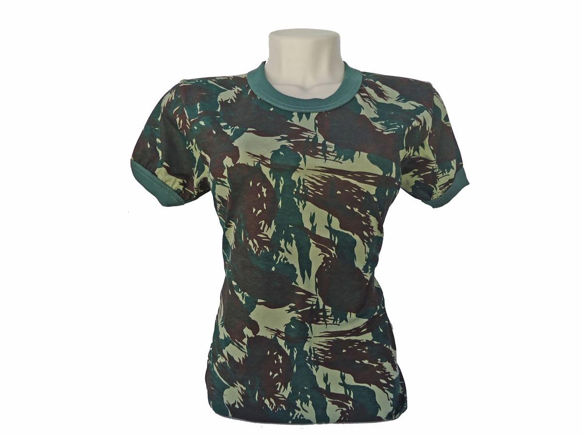 Camiseta Camuflada Exercito Brasileiro  a1d1359827e