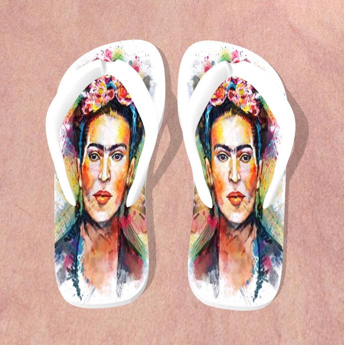 d78daab13 Chinelos Personalizados - Frida Kahlo no Elo7 | PL4Y (ACAFFA)
