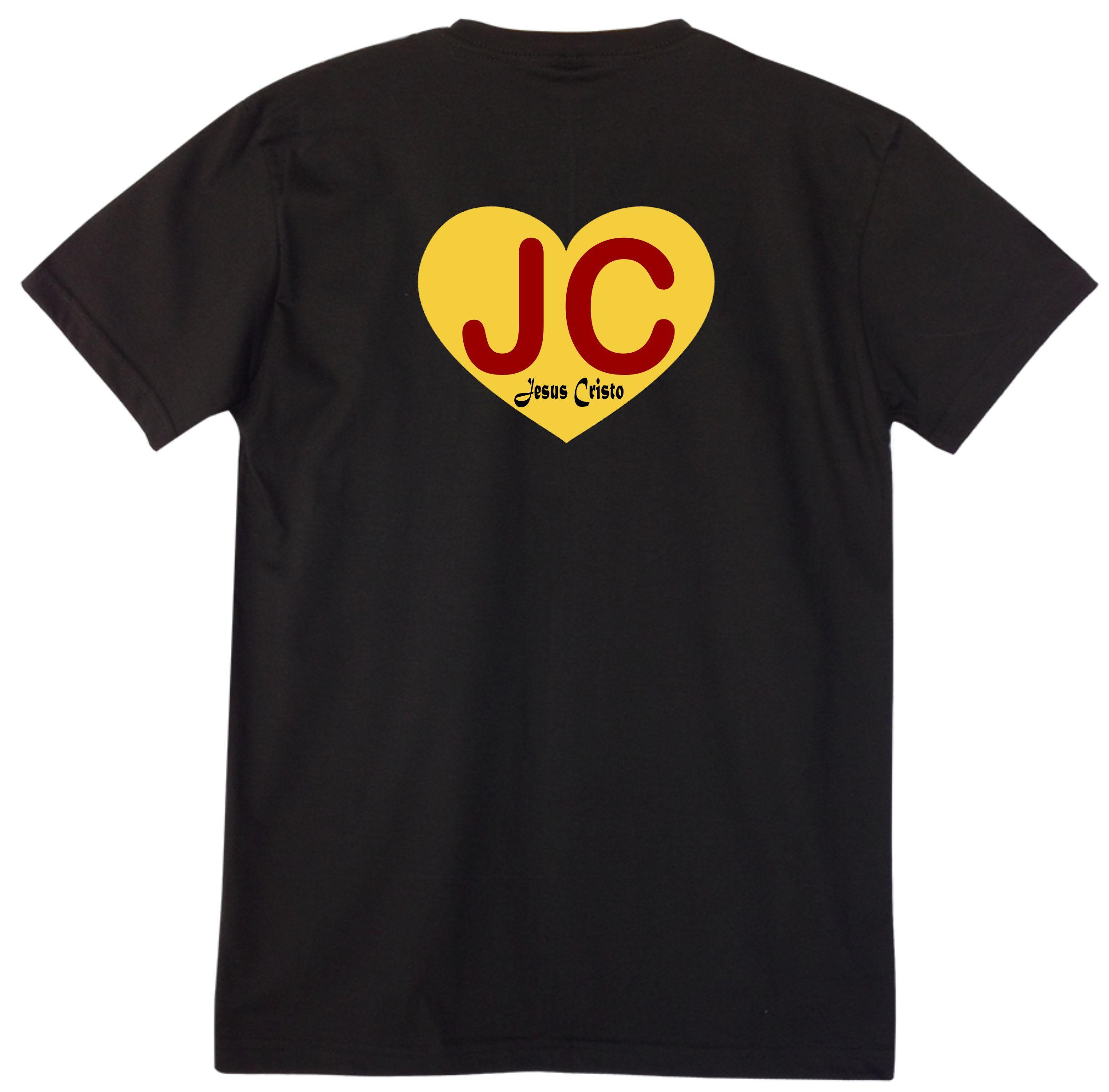 bf11bdc5a Camiseta Personalizada Rosa Jesus Cristo