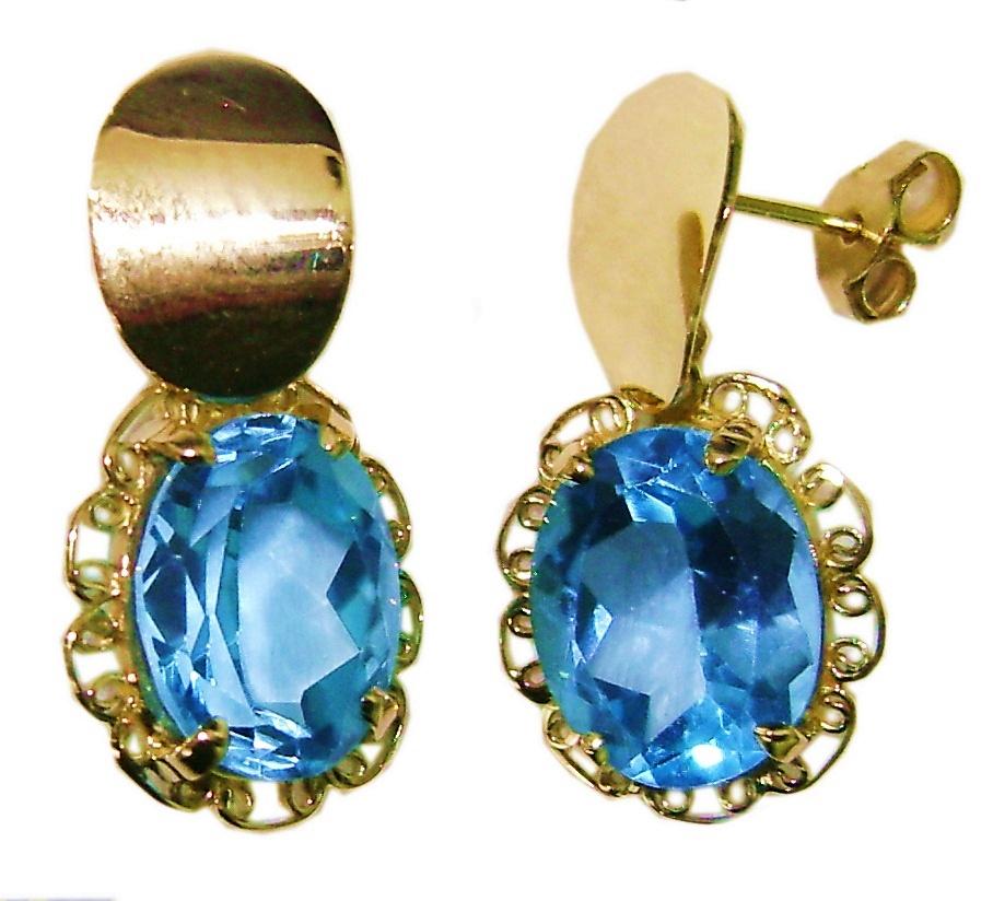 505a4f65f02cc Par de brincos de ouro 18 quilates Chuveiro Diamantes BR 24 no Elo7   DSR  Jóias (ACC23A)