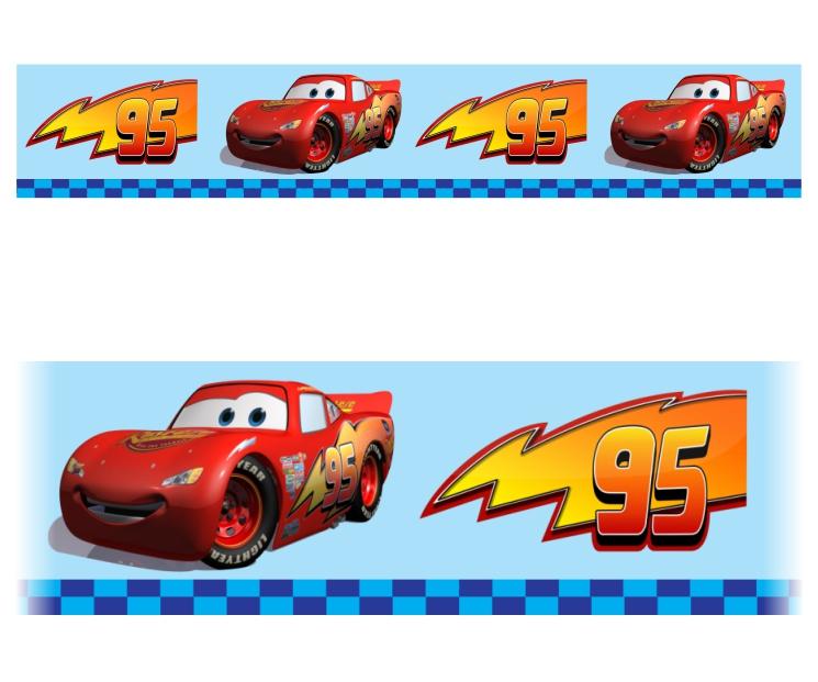 Faixa Adesiva Infantil Carros Mod 312 No Elo7 Colorcards