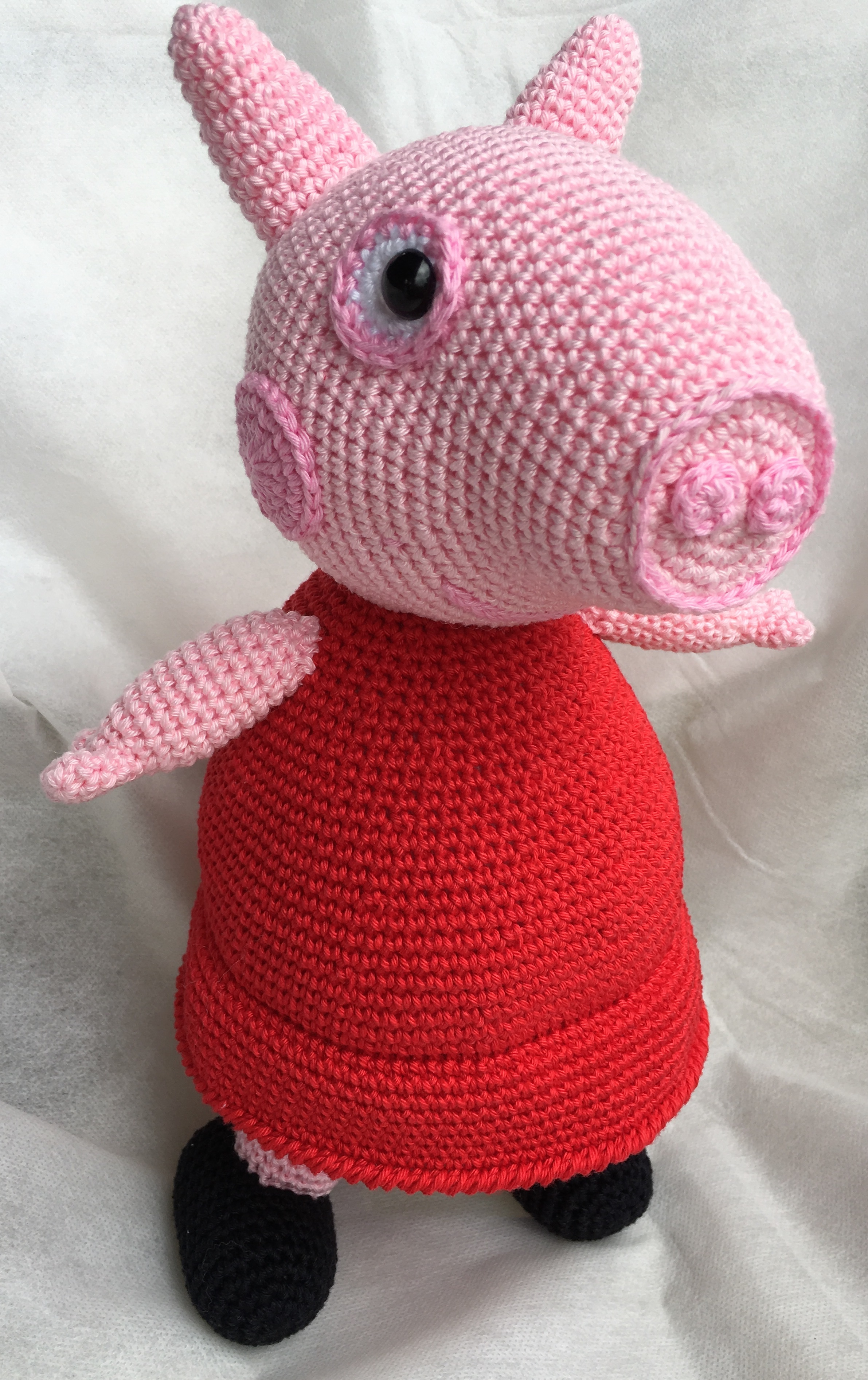 Peppa Pig - free crochet pattern - Amigurumi Today | 3786x2382