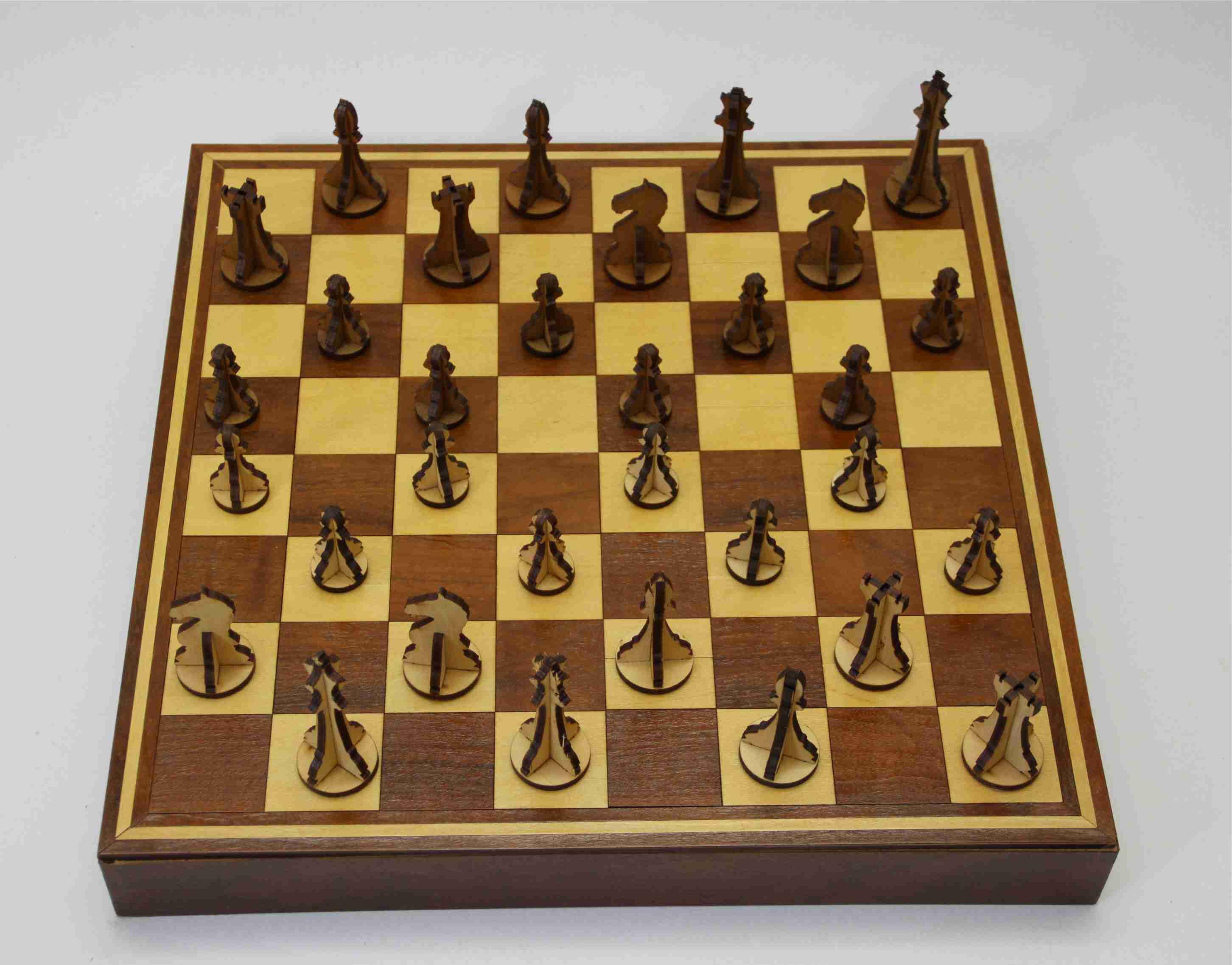 b8c6a6cc7ff Tabuleiro de Xadrez no Elo7