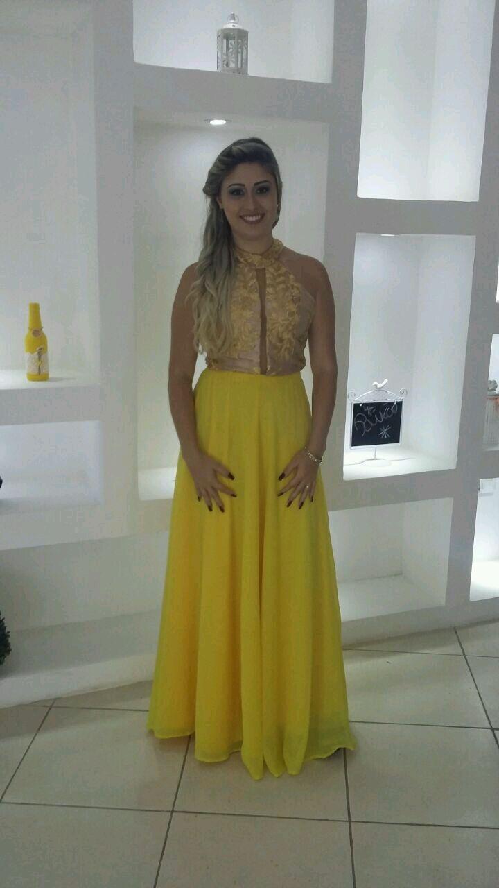 4540453a97a0 Vestido Festa Rosa Renda Longo Madrinha Casamento Formatura | Elo7