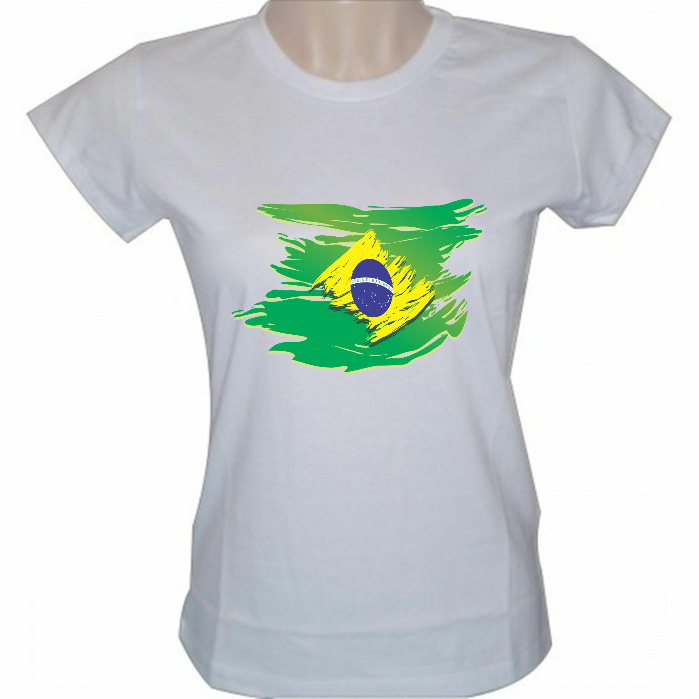 15d180c7e Camiseta Brasil Bandeira Like