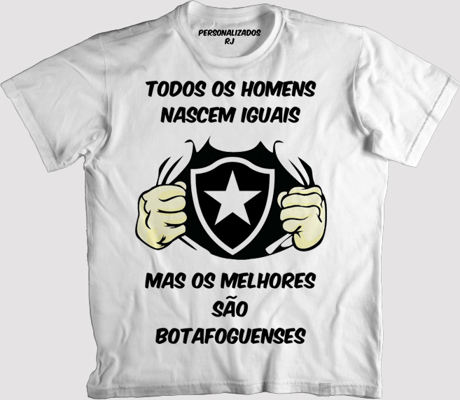03668b9ddf Camisa os Melhores São Botafoguenses