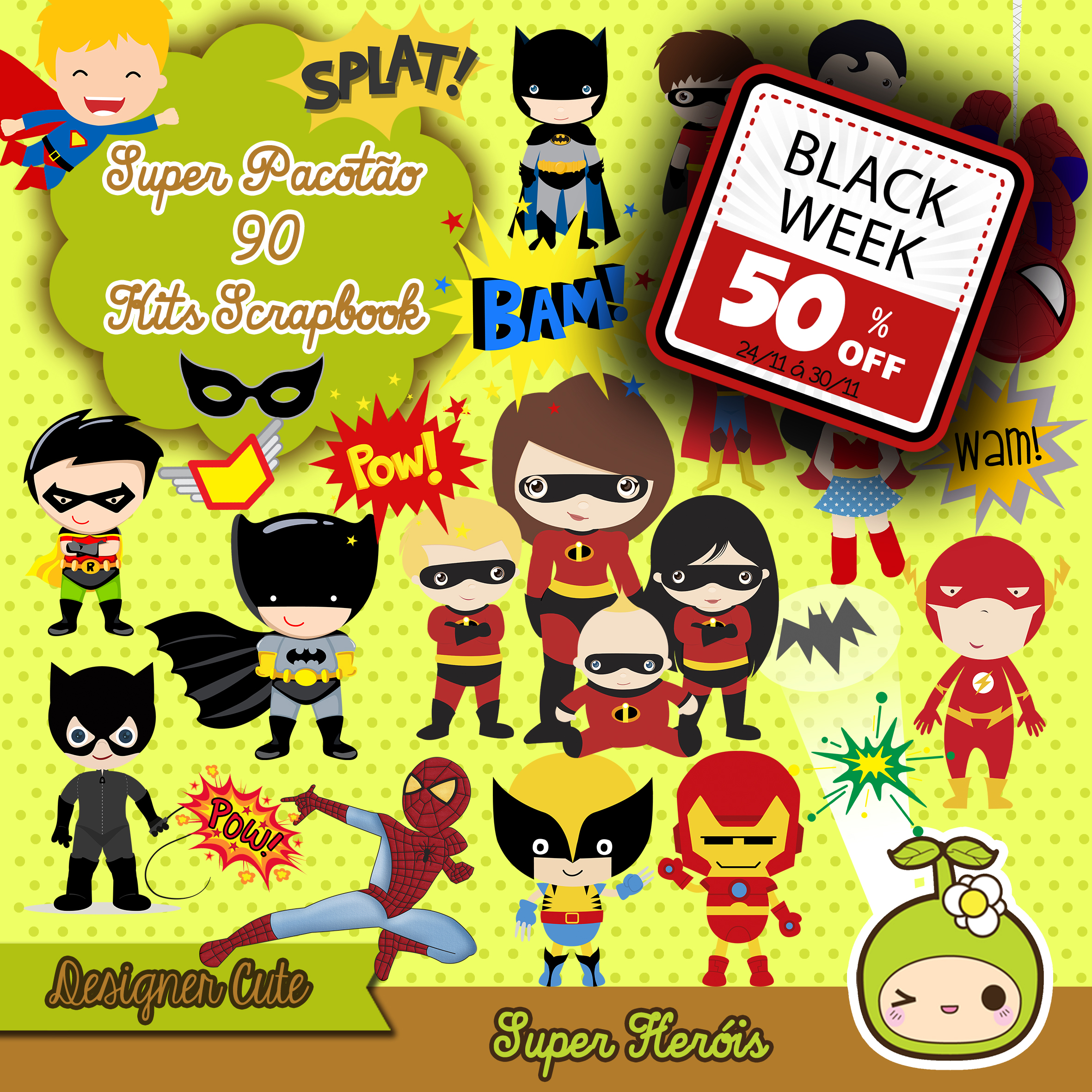 885caf862a Super Kit Premium Scrapbook