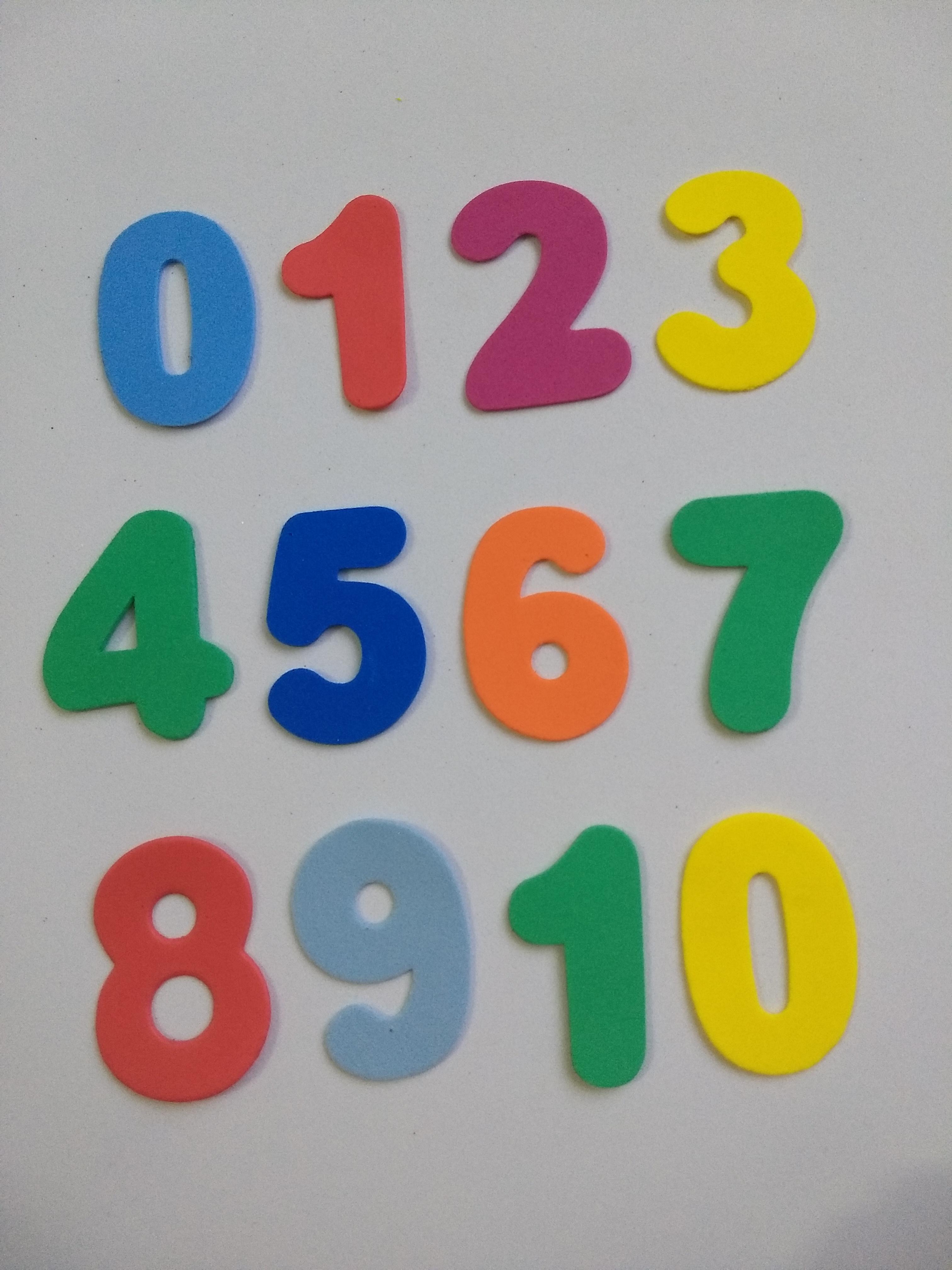 numeros em eva 0 a 10 no elo7 ateliÊ brincando com eva ae6679