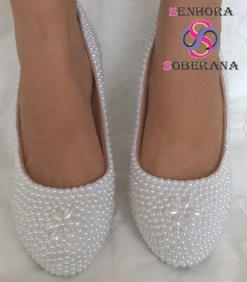 66d5a8d7d9 Sapato Meia Pata Tubarao Branco